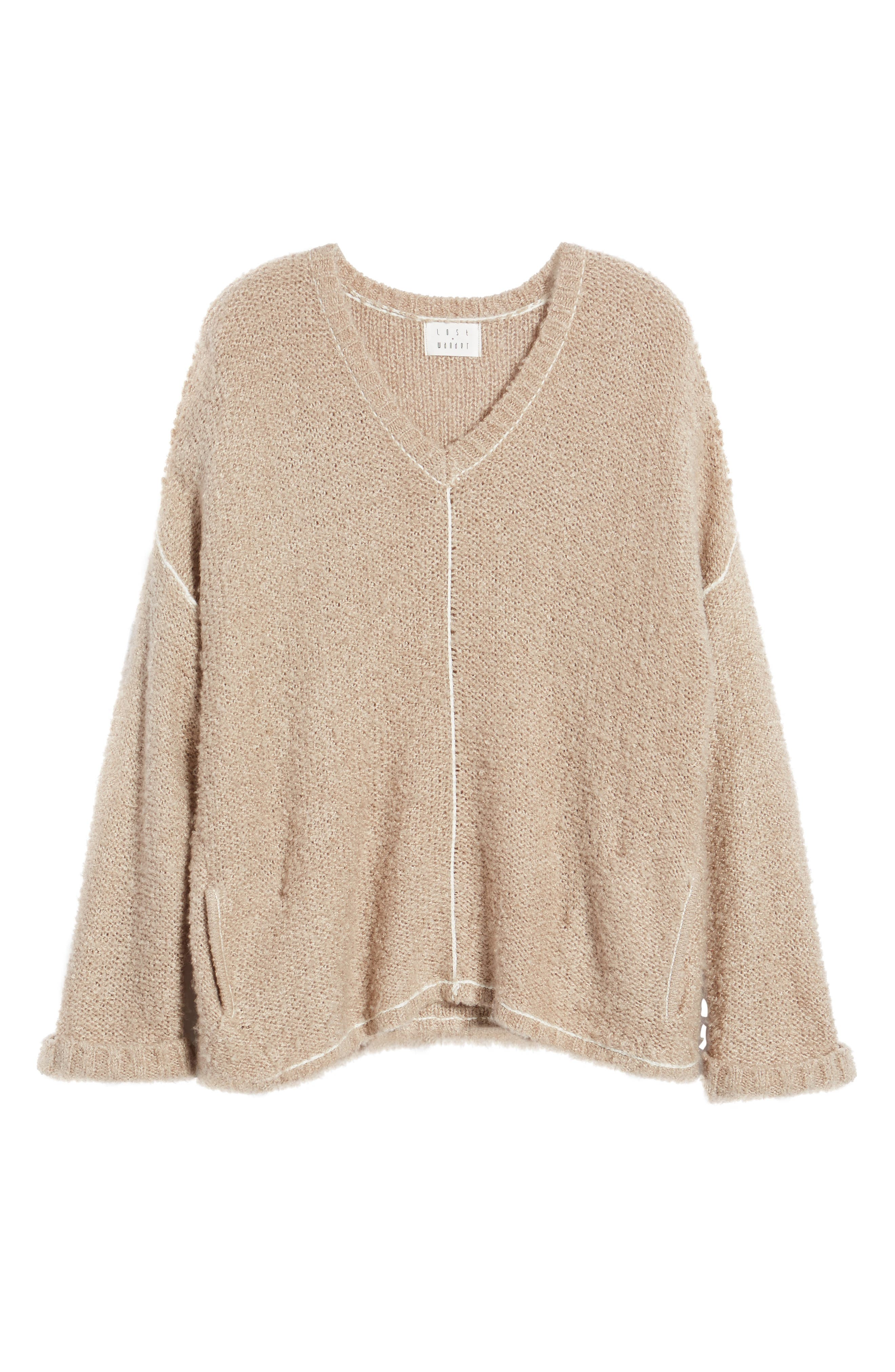 Voyage Knit Sweater,                             Alternate thumbnail 6, color,                             253
