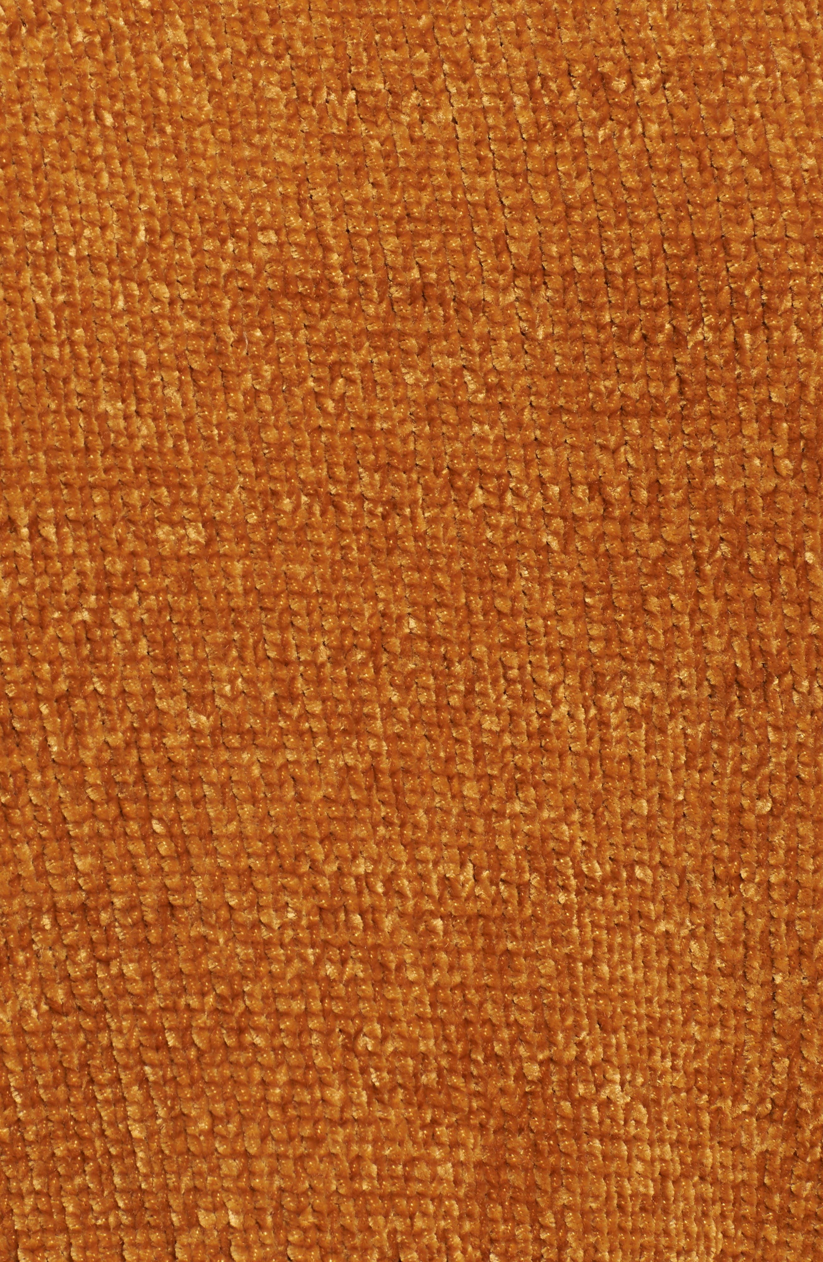 Stripe Sleeve Chenille Sweater,                             Alternate thumbnail 5, color,                             700