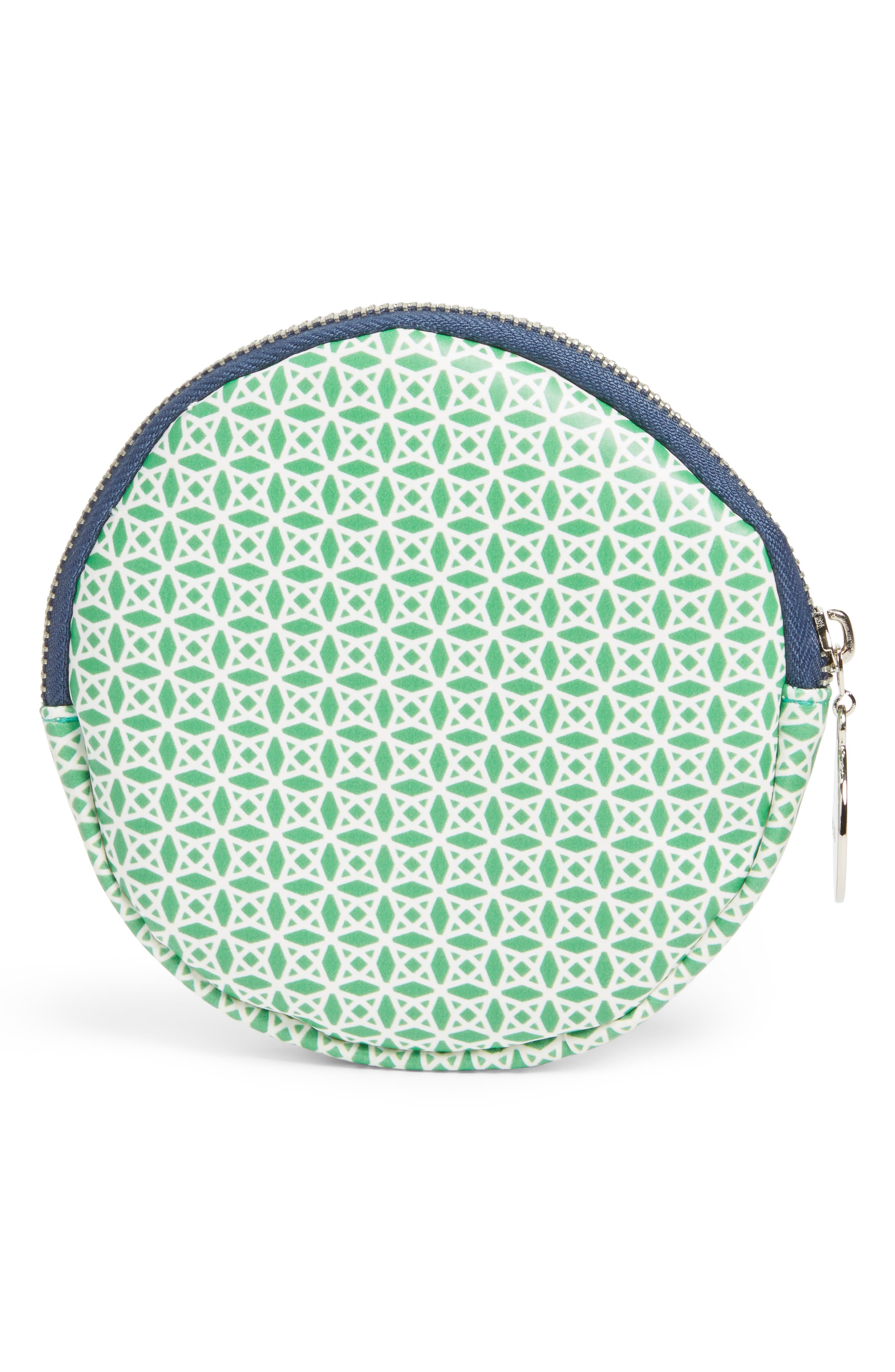 Round Cosmetics Bag,                             Alternate thumbnail 2, color,                             300