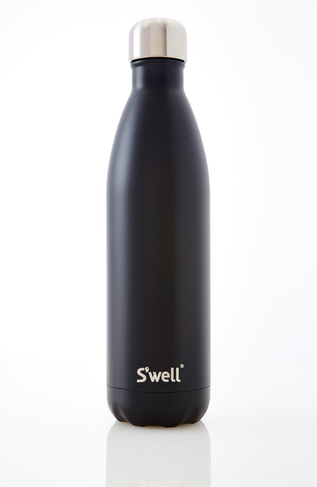 'London Chimney' Insulated Stainless Steel Water Bottle,                             Alternate thumbnail 3, color,                             001