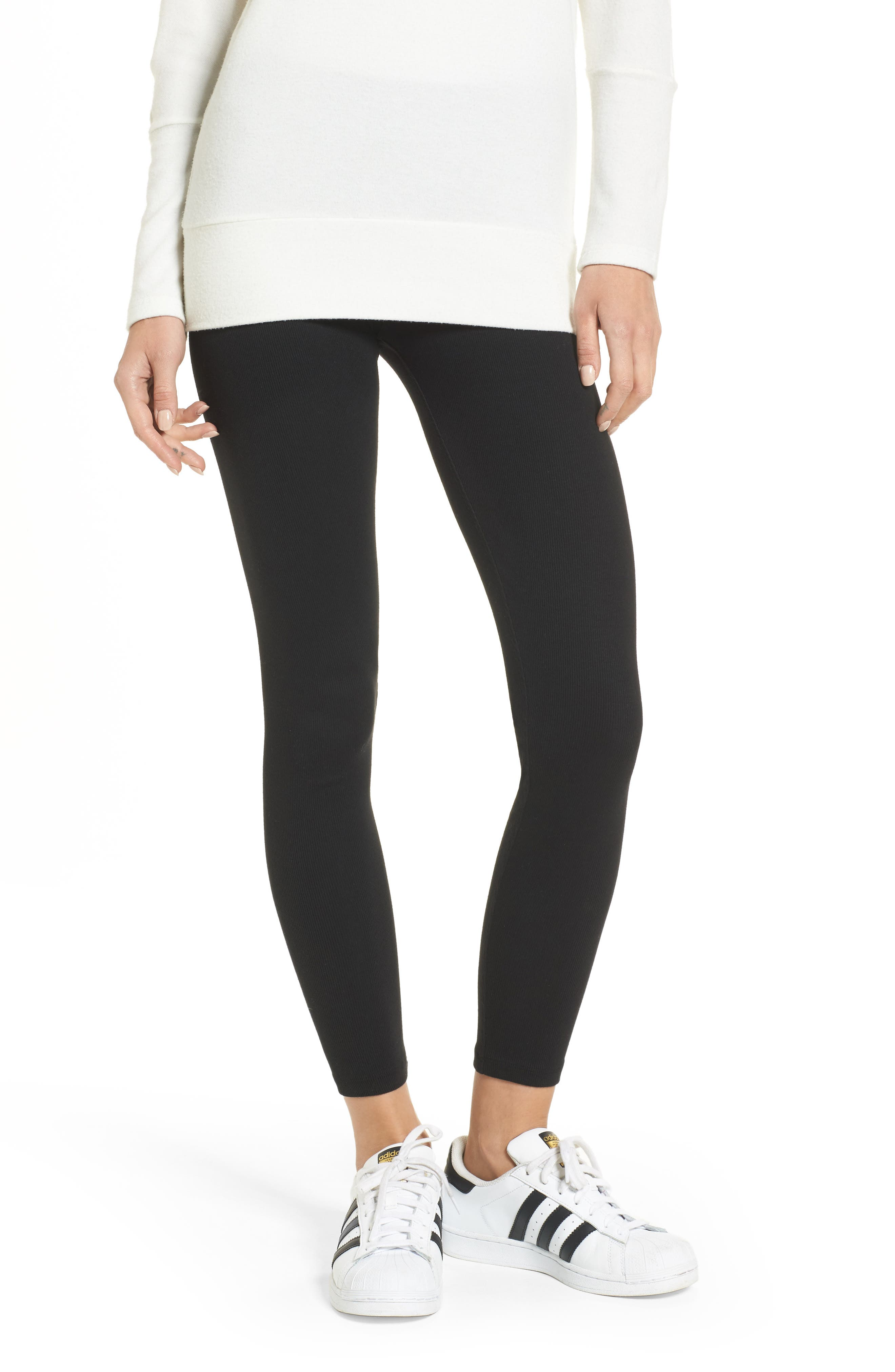 Ribbed Leggings,                         Main,                         color,