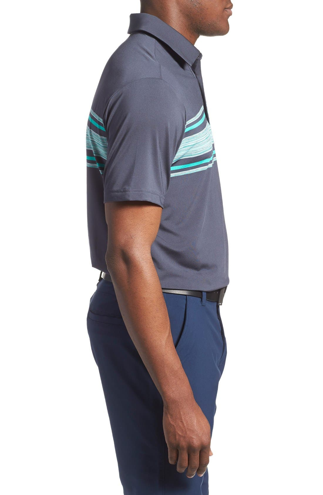 'Playoff' Loose Fit Short Sleeve Polo,                             Alternate thumbnail 70, color,