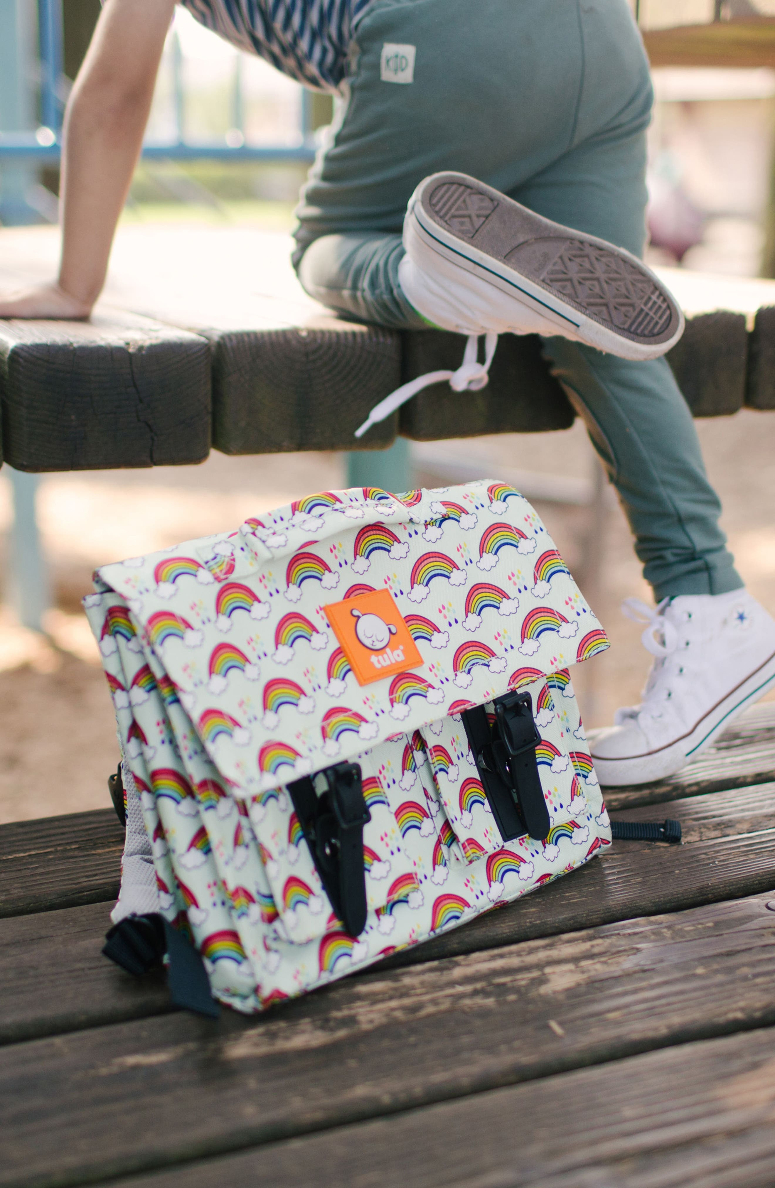 Rainbow Showers Backpack,                             Alternate thumbnail 5, color,                             300