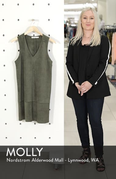 Bishop + Young Sueded Sleeveless Shift Dress, sales video thumbnail