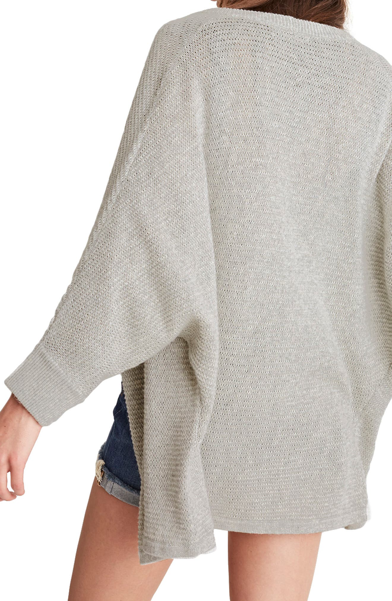 Seabank Cardigan,                             Alternate thumbnail 2, color,                             HEATHER DOVETAIL