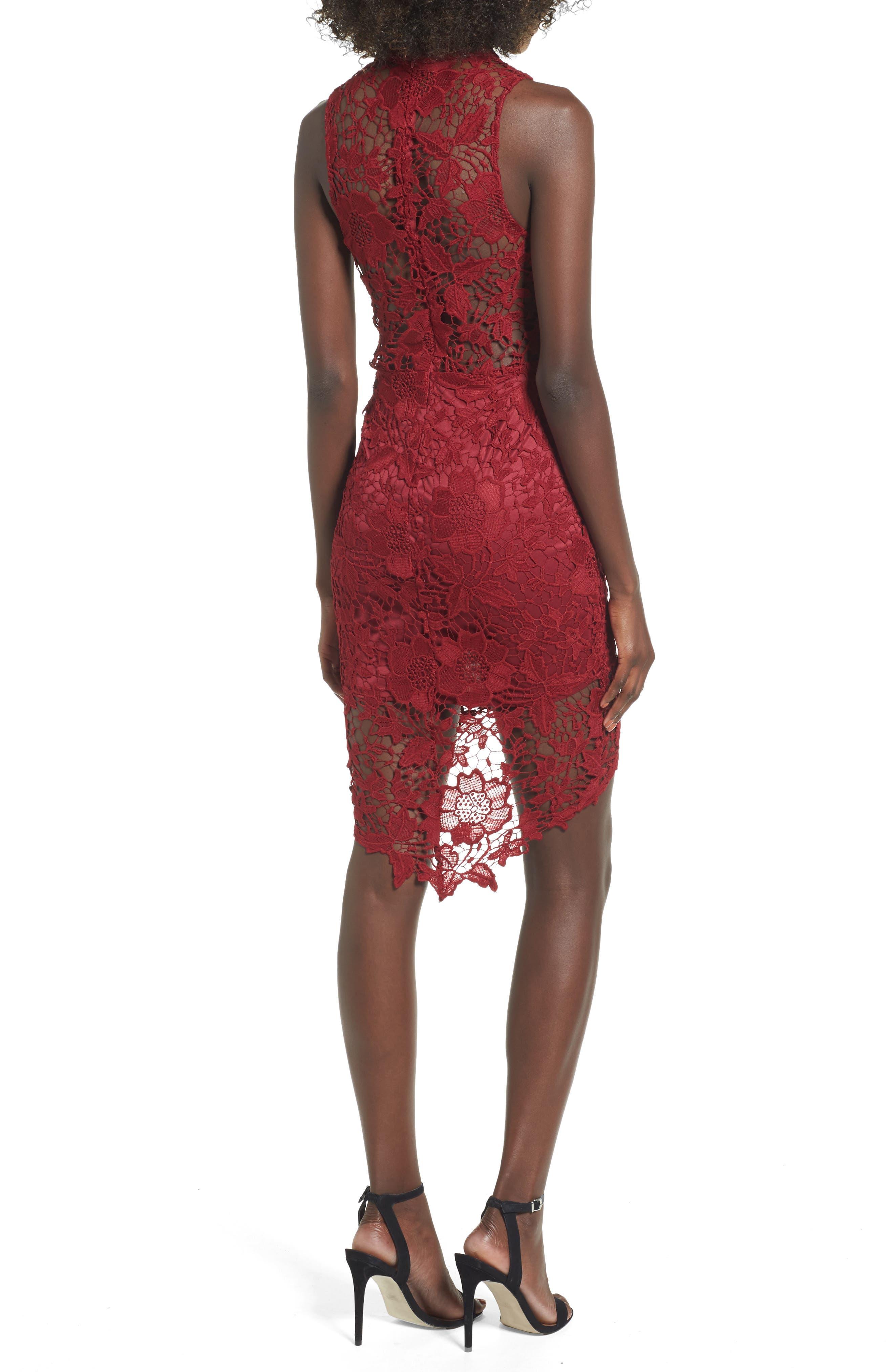 'Samantha' Lace Dress,                             Alternate thumbnail 9, color,