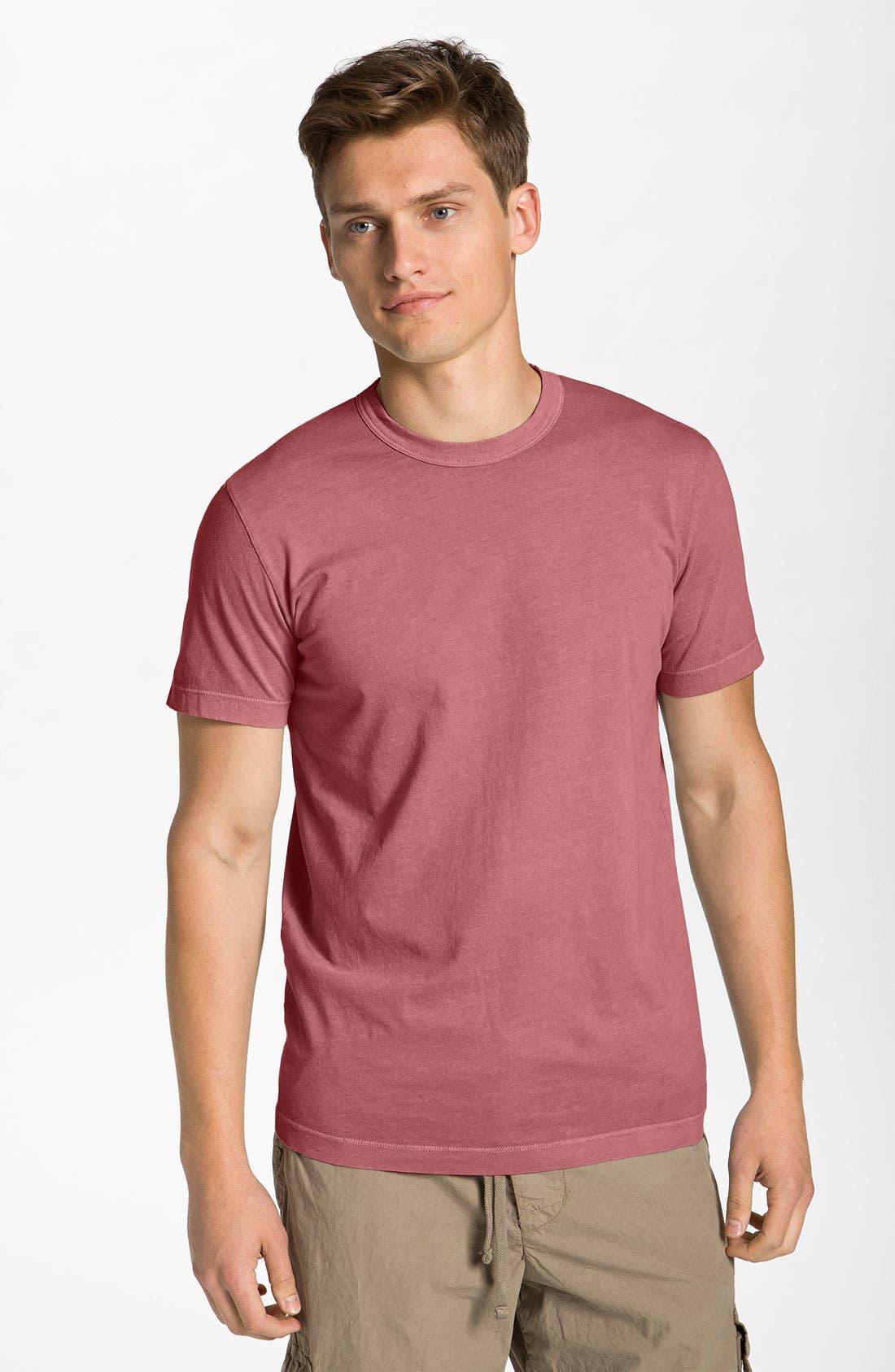 Crewneck Jersey T-Shirt,                             Main thumbnail 101, color,