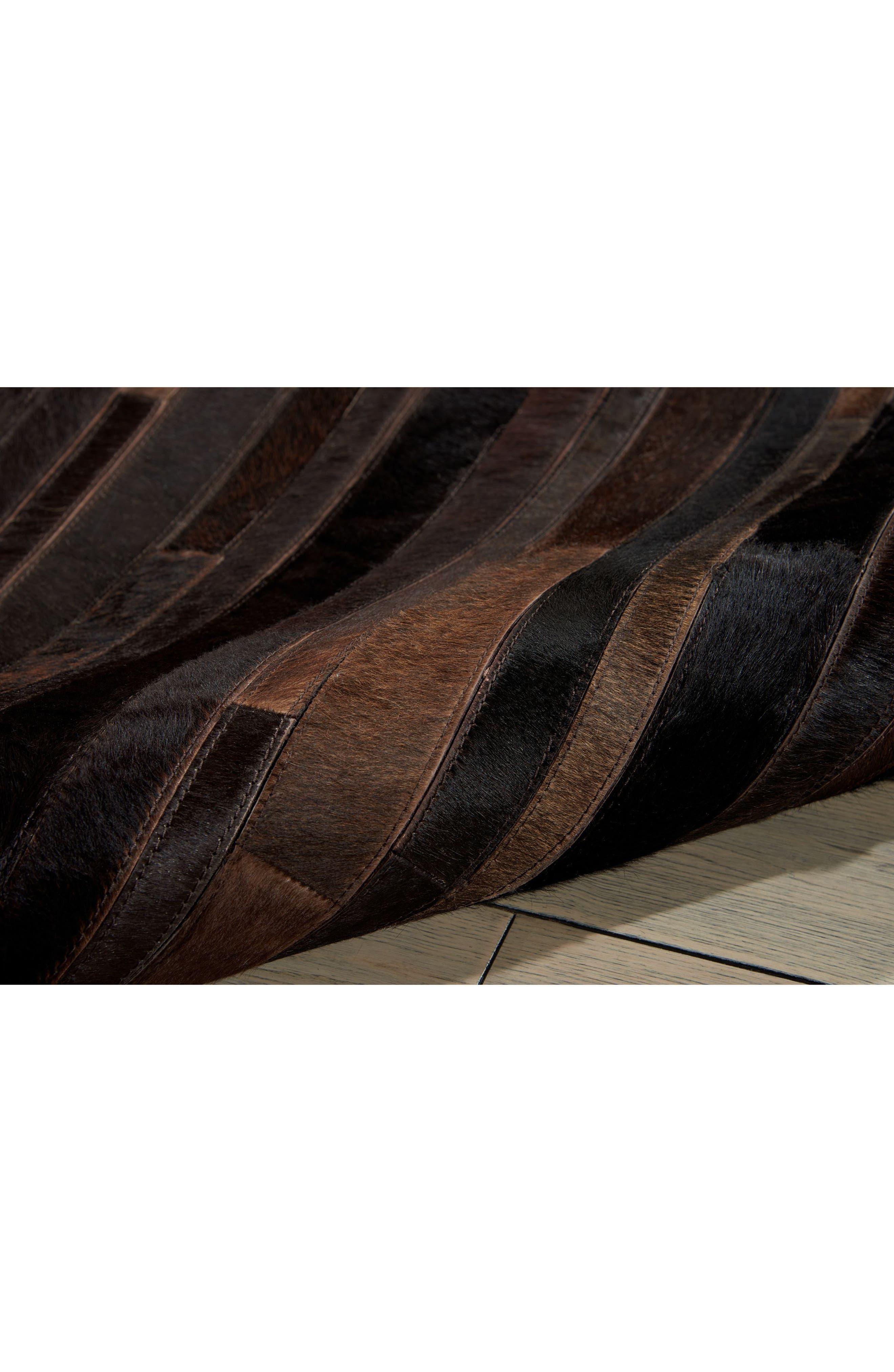 Home Prairie Genuine Calf Hair Area Rug,                             Alternate thumbnail 16, color,