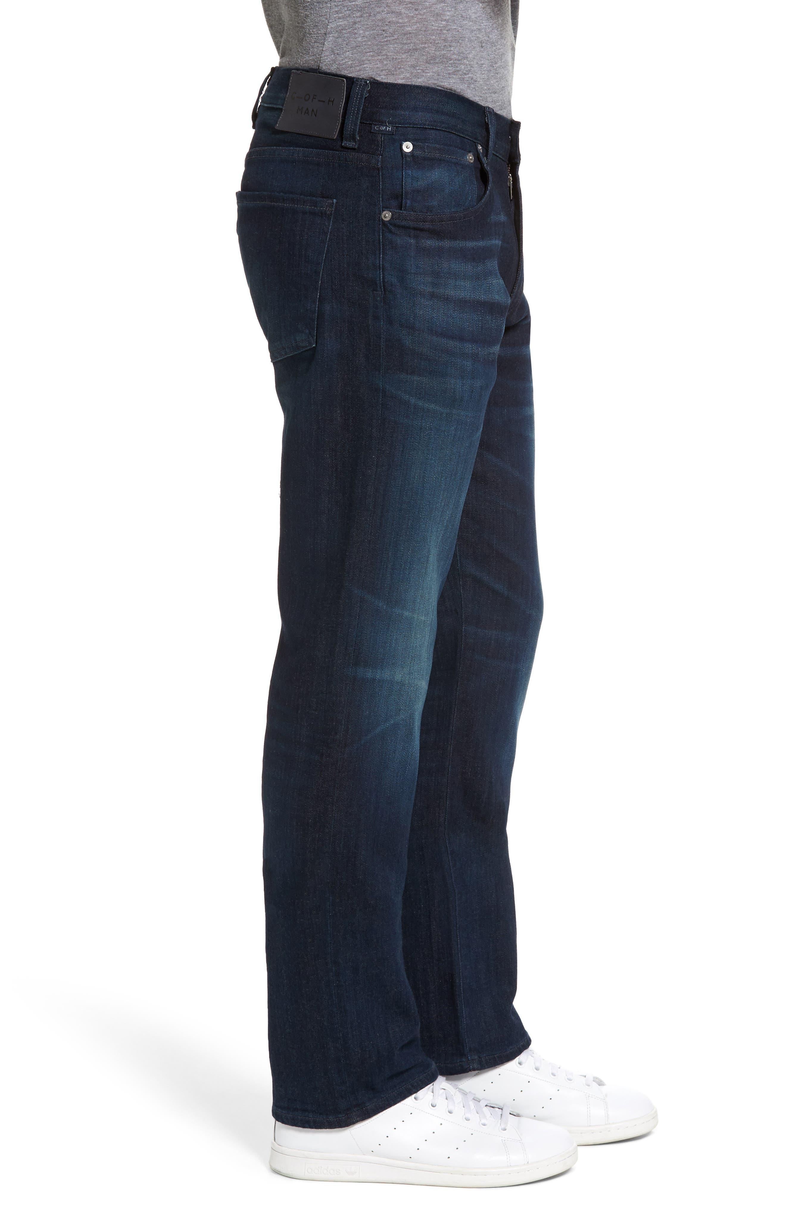'Sid Classic' Straight Leg Jeans,                             Alternate thumbnail 4, color,                             473