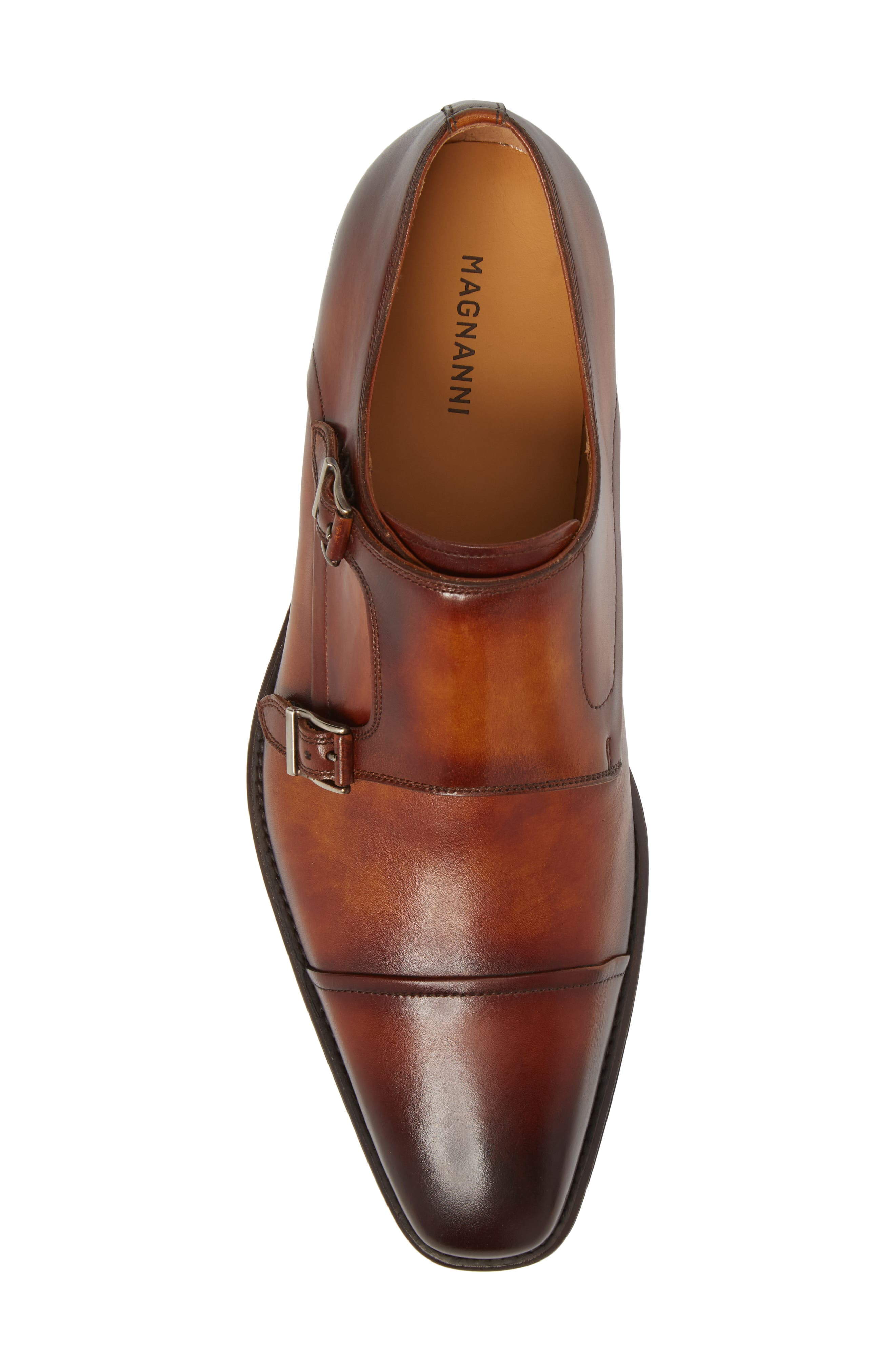 Silvio Double Monk Strap Shoe,                             Alternate thumbnail 5, color,                             230