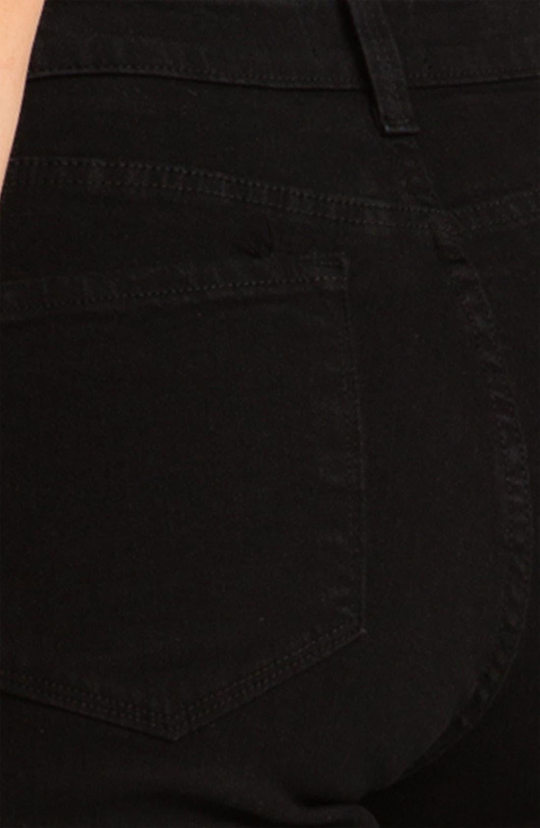 'Sheri' Stretch Skinny Jeans,                             Alternate thumbnail 5, color,                             001