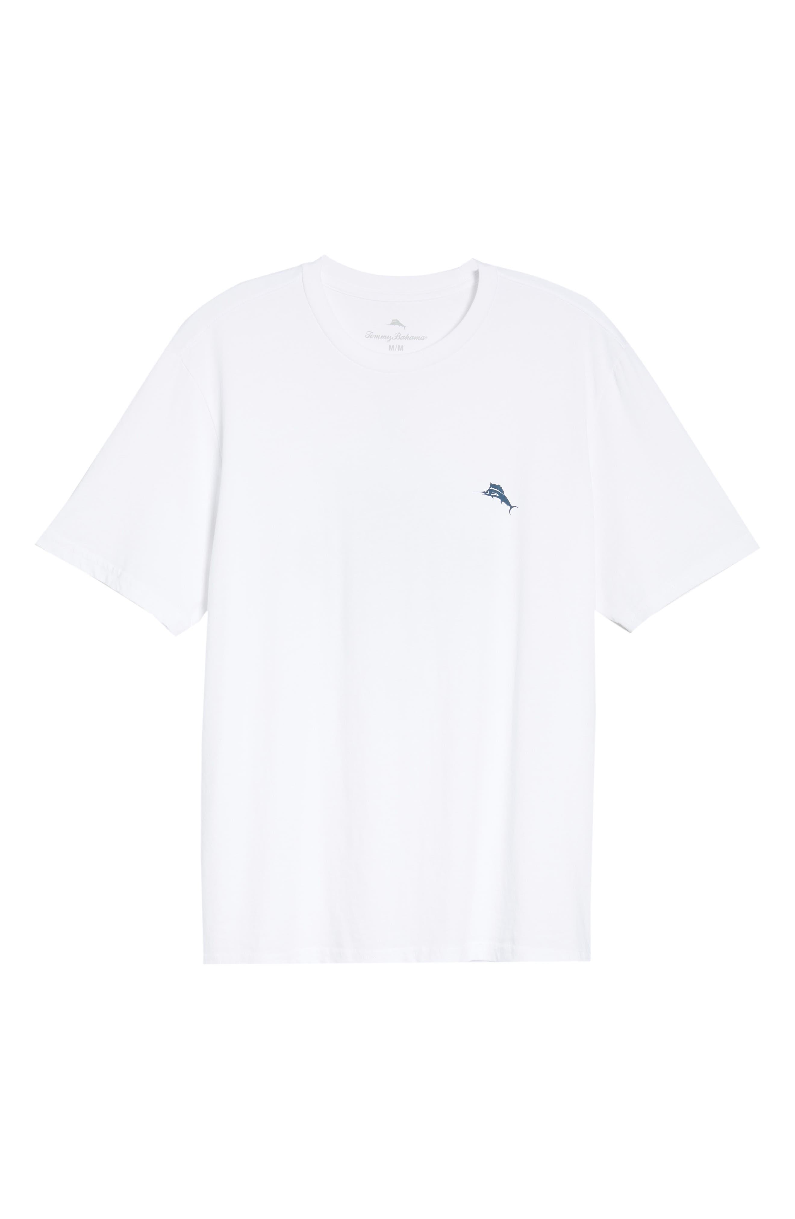 Diamond Cove T-Shirt,                             Alternate thumbnail 6, color,                             100