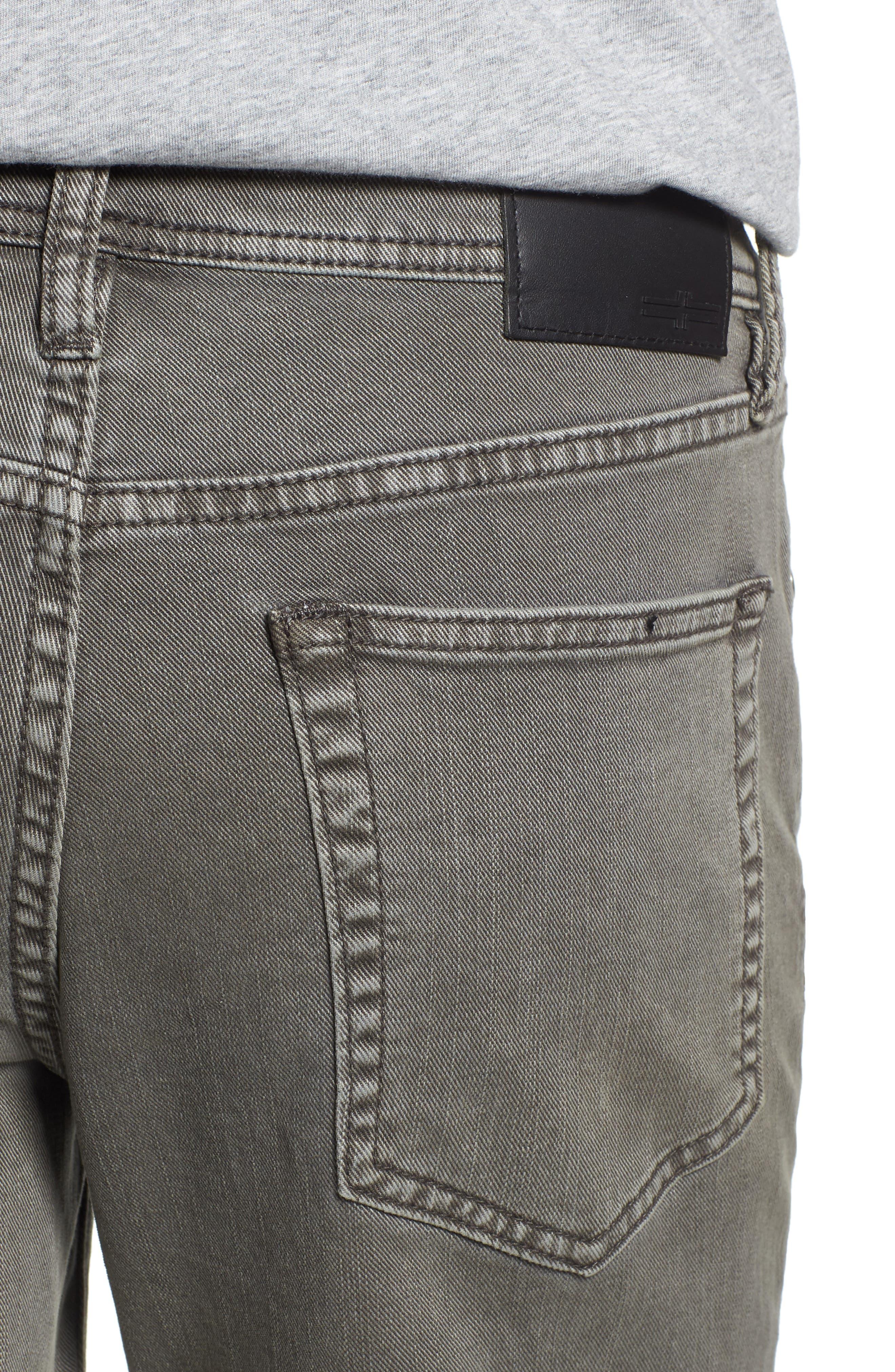 Regent Relaxed Fit Jeans,                             Alternate thumbnail 4, color,                             GUNMETAL