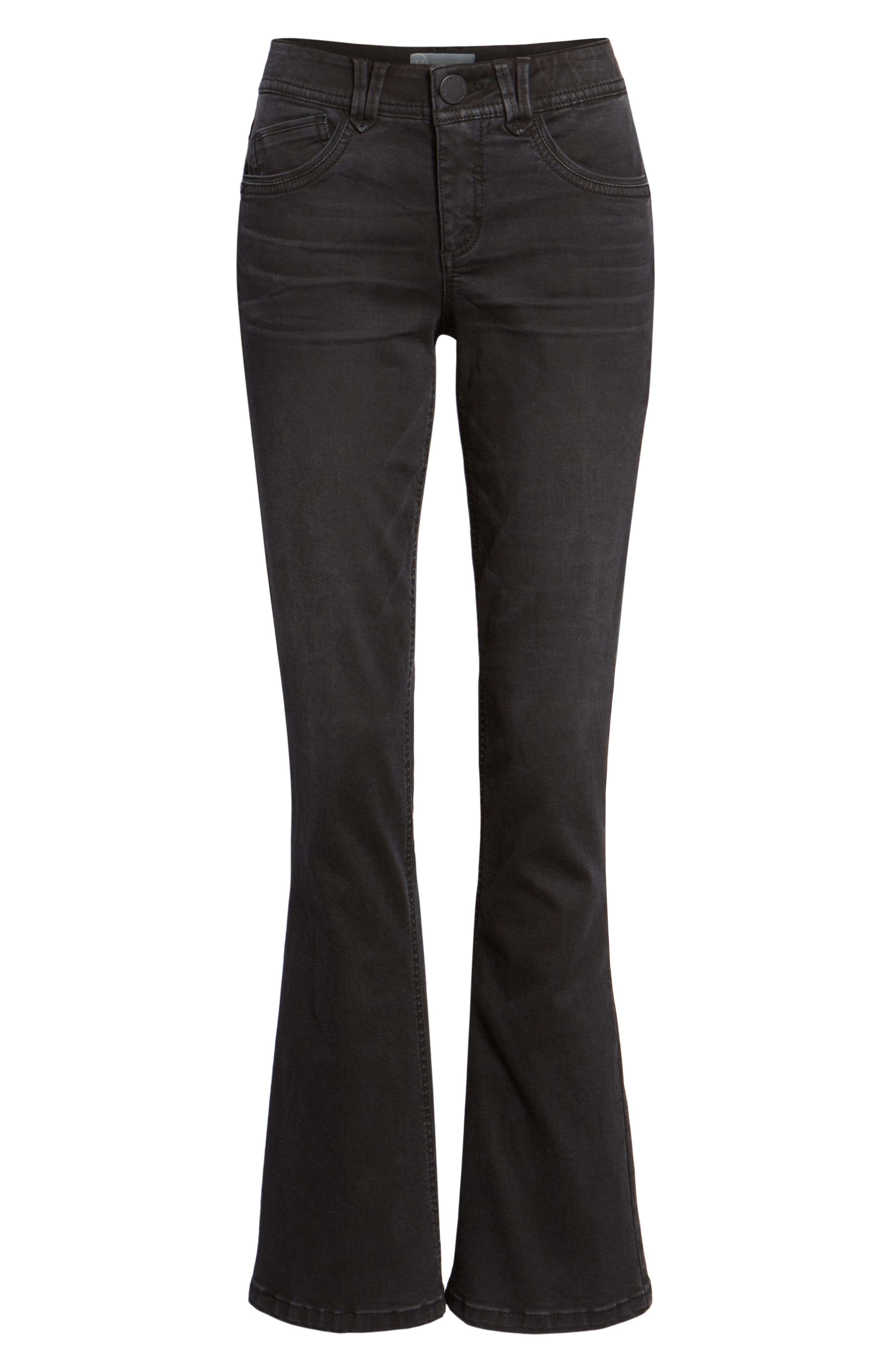 Ab-solution Itty Bitty Bootcut Jeans,                             Alternate thumbnail 7, color,                             001