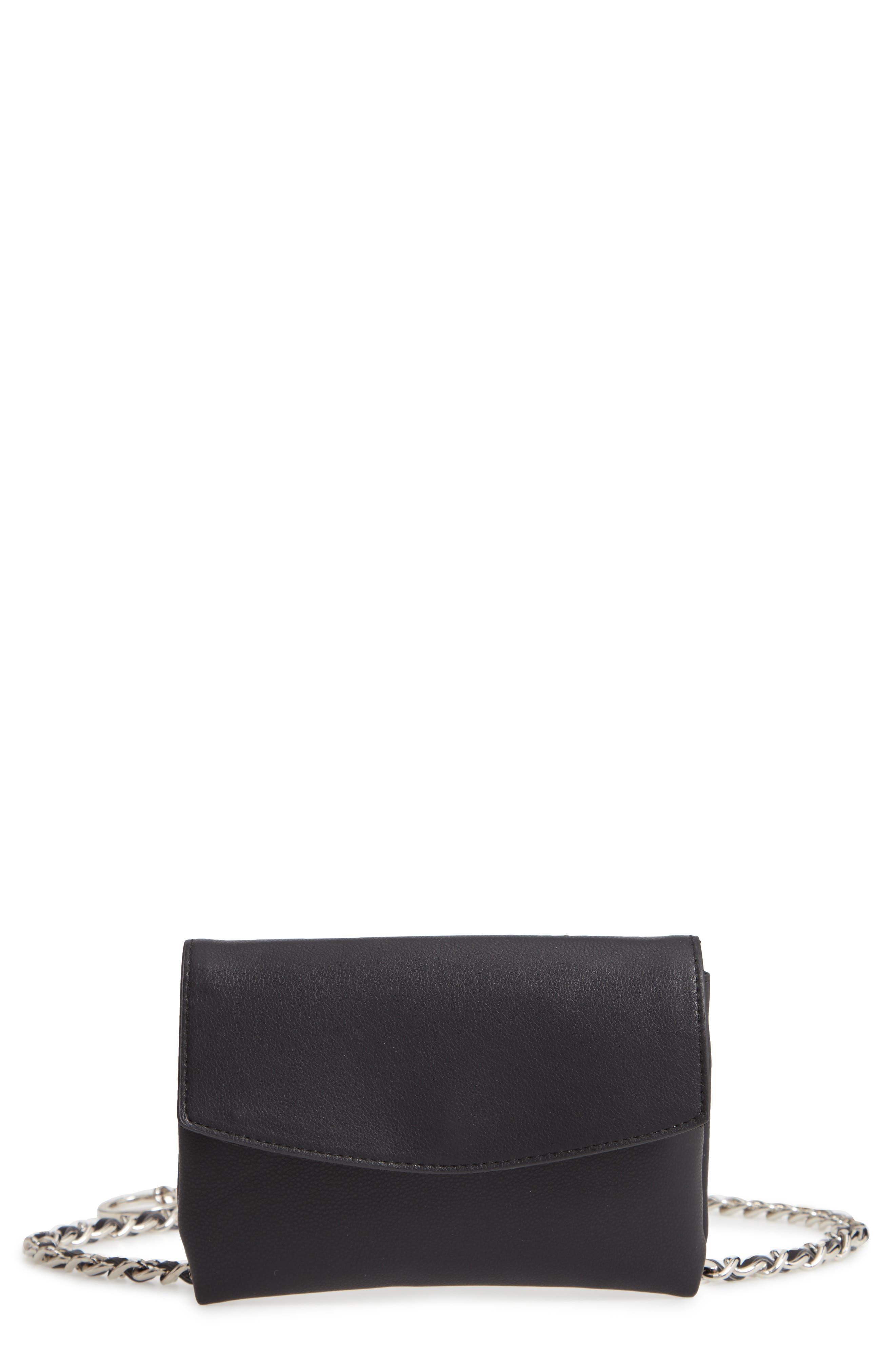 Chain Belt Bag,                         Main,                         color, 002