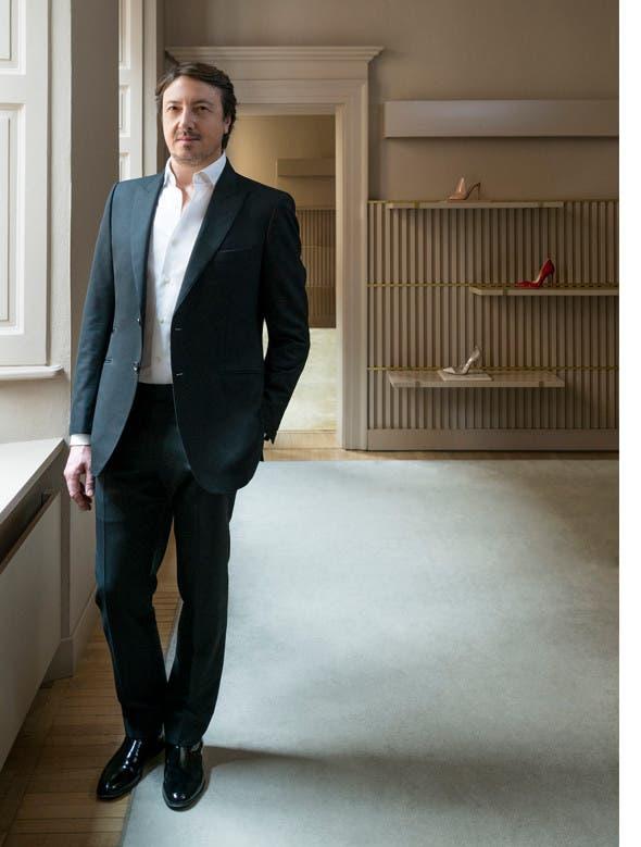 Heart and sole: shoe designer Gianvito Rossi.