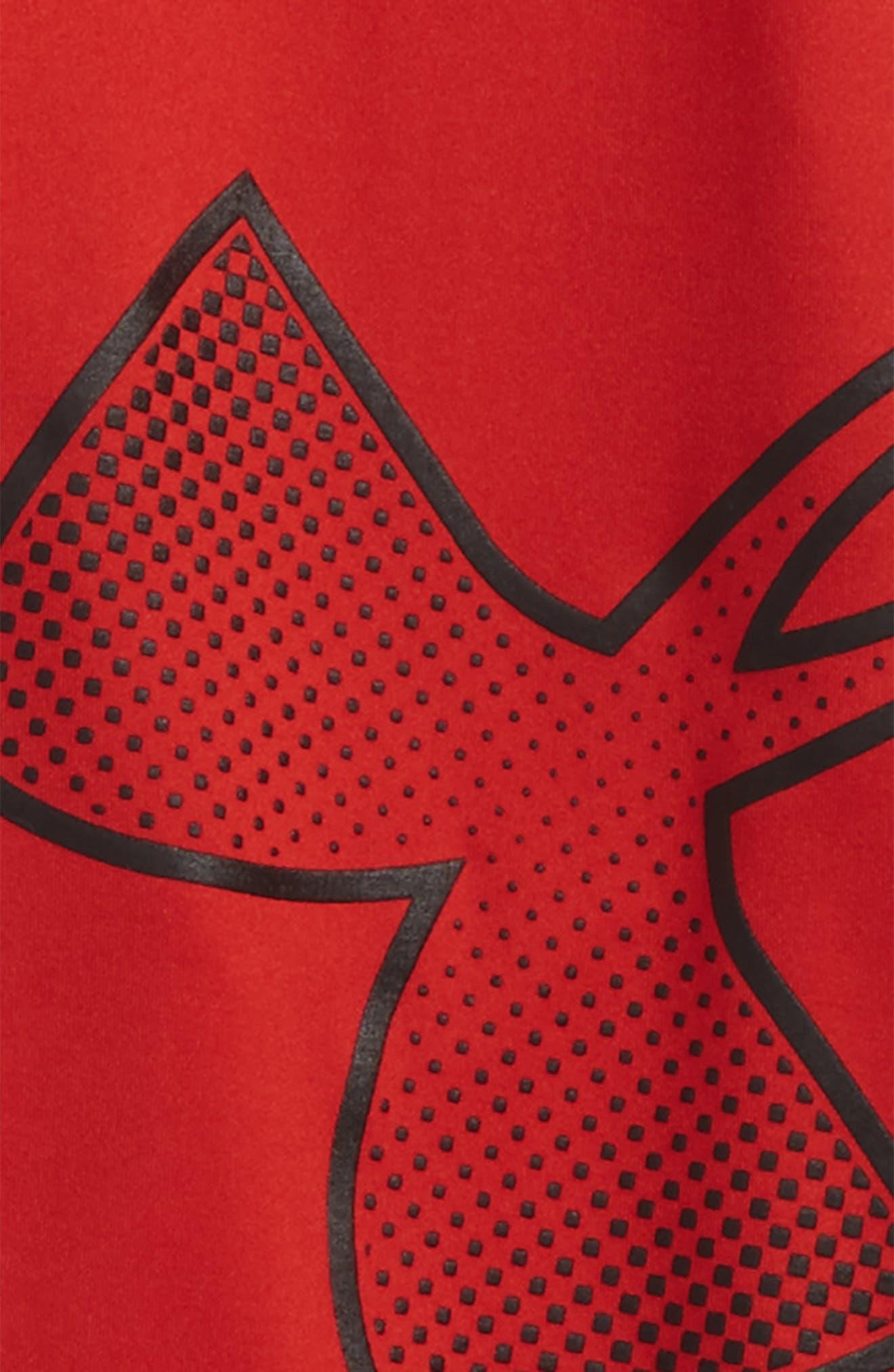 Logo HeatGear<sup>®</sup> 3/4 Leggings,                             Alternate thumbnail 12, color,