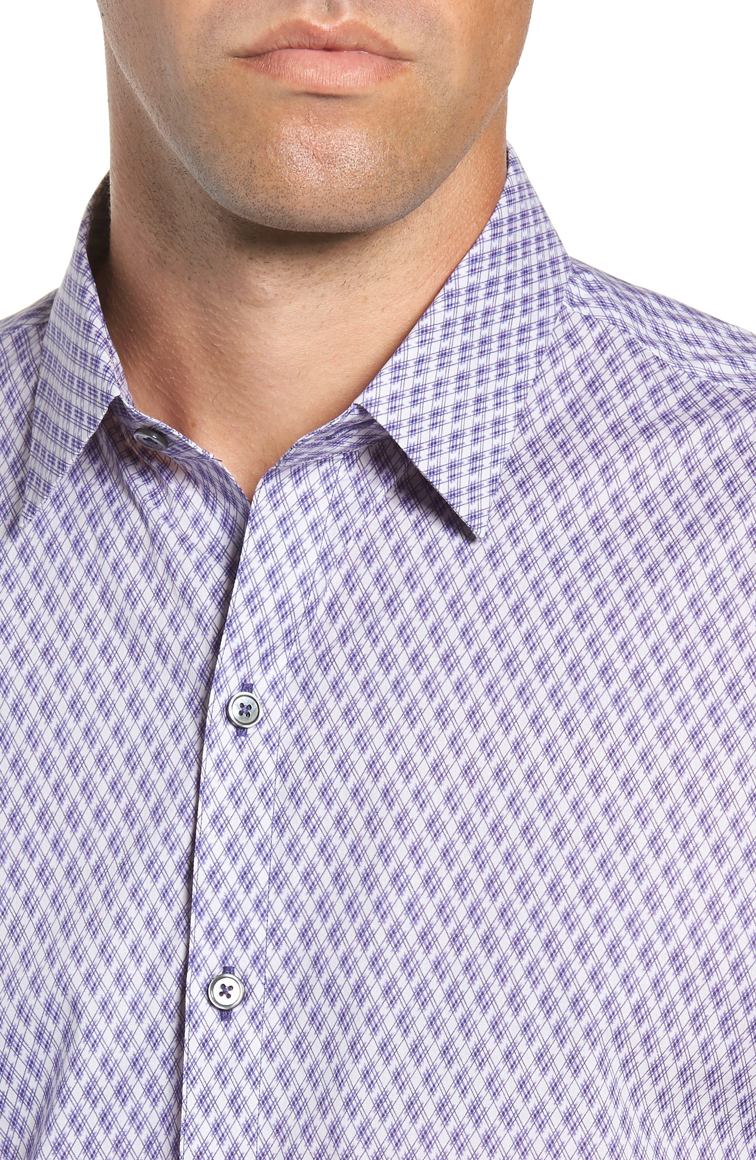 Madorin Regular Fit Sport Shirt,                             Alternate thumbnail 2, color,                             PURPLE