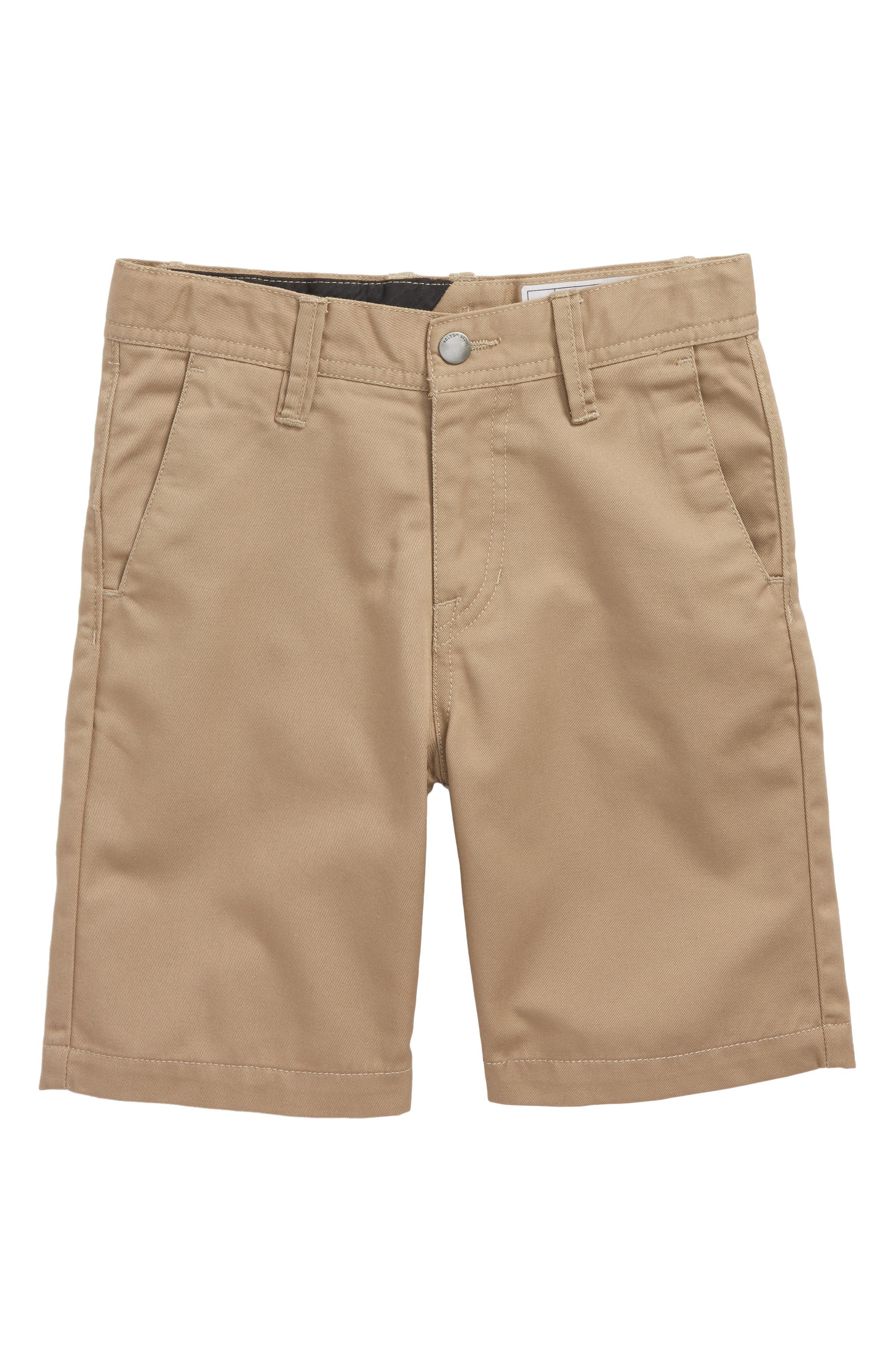 Chino Shorts,                             Main thumbnail 1, color,                             KHAKI
