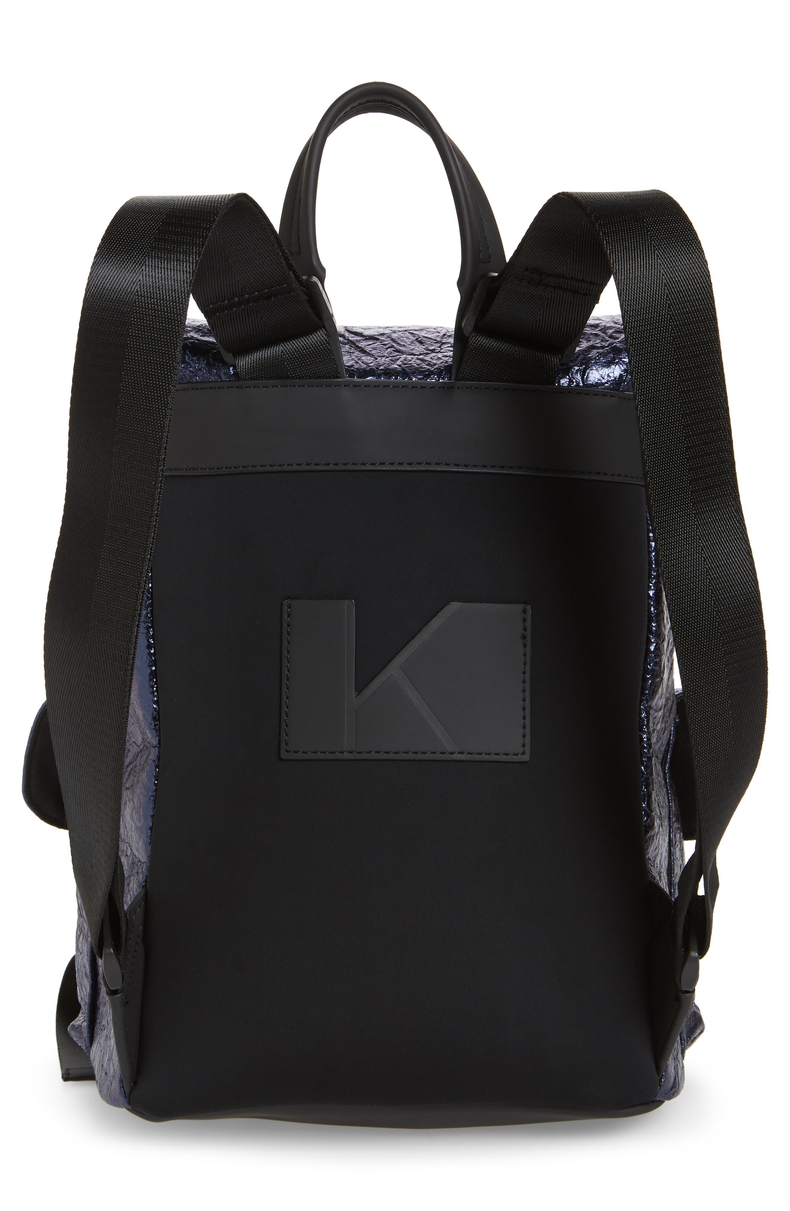 KENDALL + KYLIE,                             Parker Metallic Water Resistant Backpack,                             Alternate thumbnail 3, color,                             400
