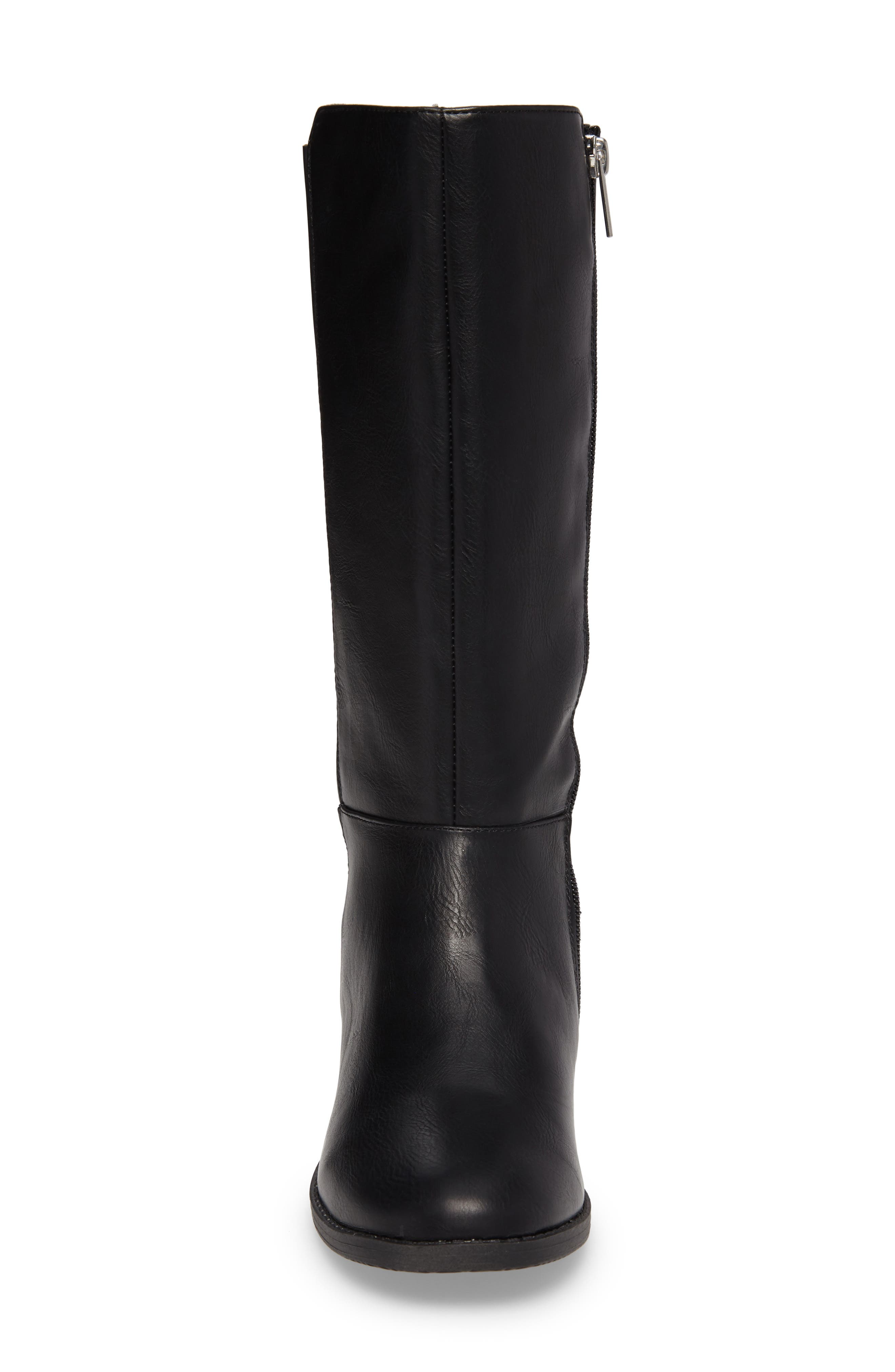 Kennedy Pleated Riding Boot,                             Alternate thumbnail 7, color,