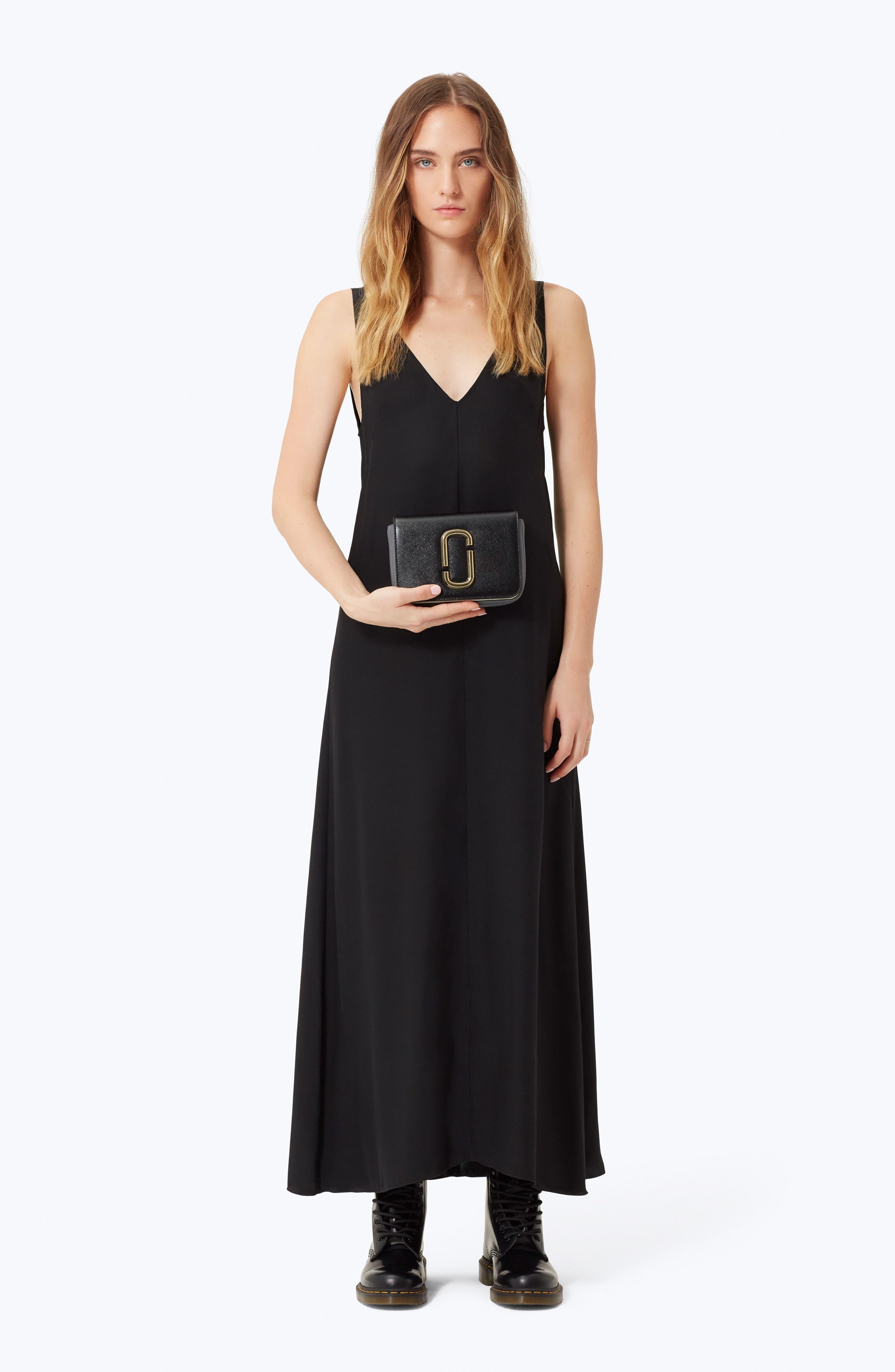 Hip Shot Convertible Leather Belt Bag,                             Alternate thumbnail 3, color,                             BLACK MULTI