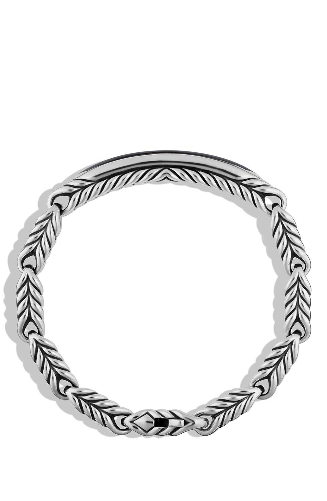 'Chevron' ID Bracelet,                             Alternate thumbnail 2, color,