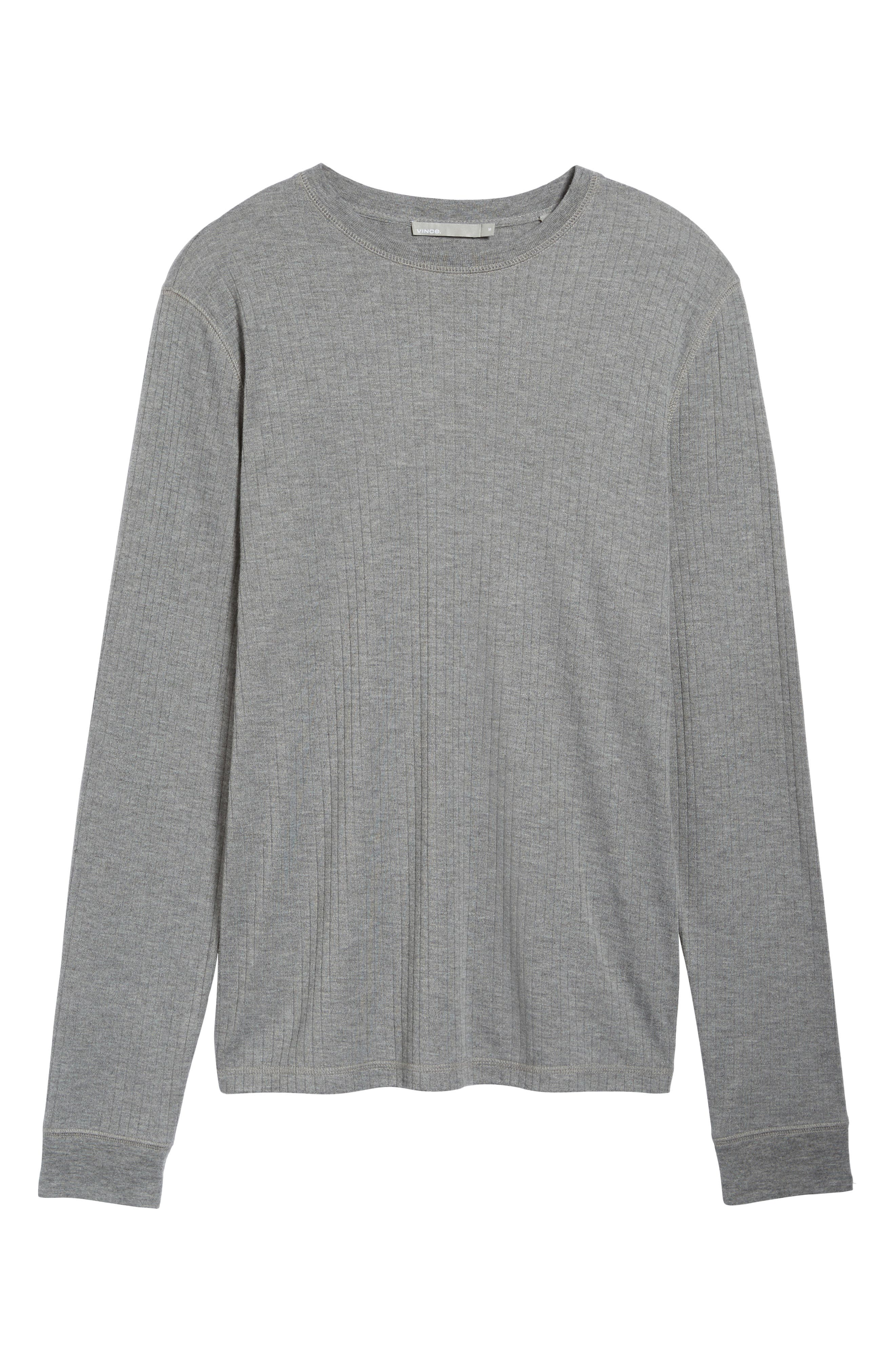 Ribbed Pullover,                             Alternate thumbnail 6, color,                             095
