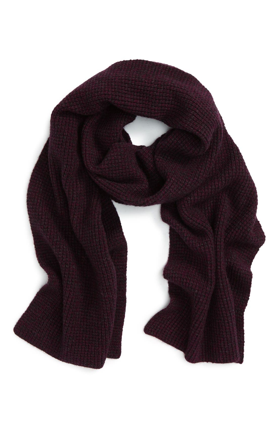 Wool & Cashmere Scarf,                             Main thumbnail 4, color,