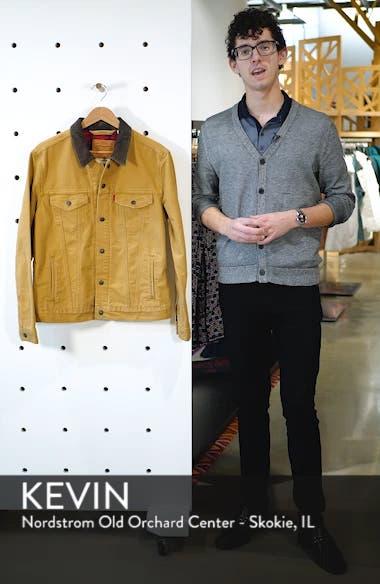x Justin Timberlake Canvas Trucker Jacket, sales video thumbnail