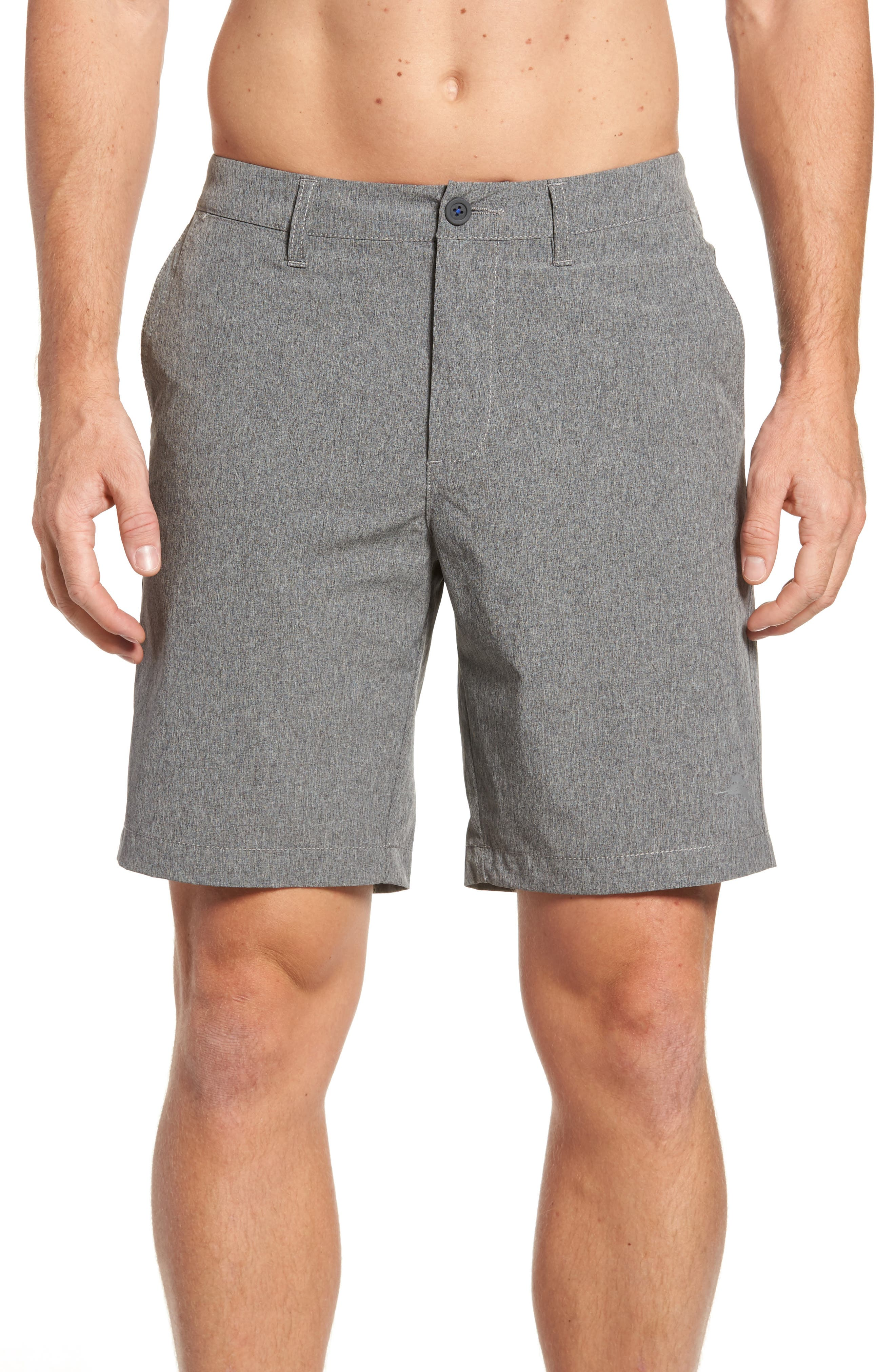 Cayman Isles Hybrid Swim Shorts,                             Alternate thumbnail 4, color,                             001