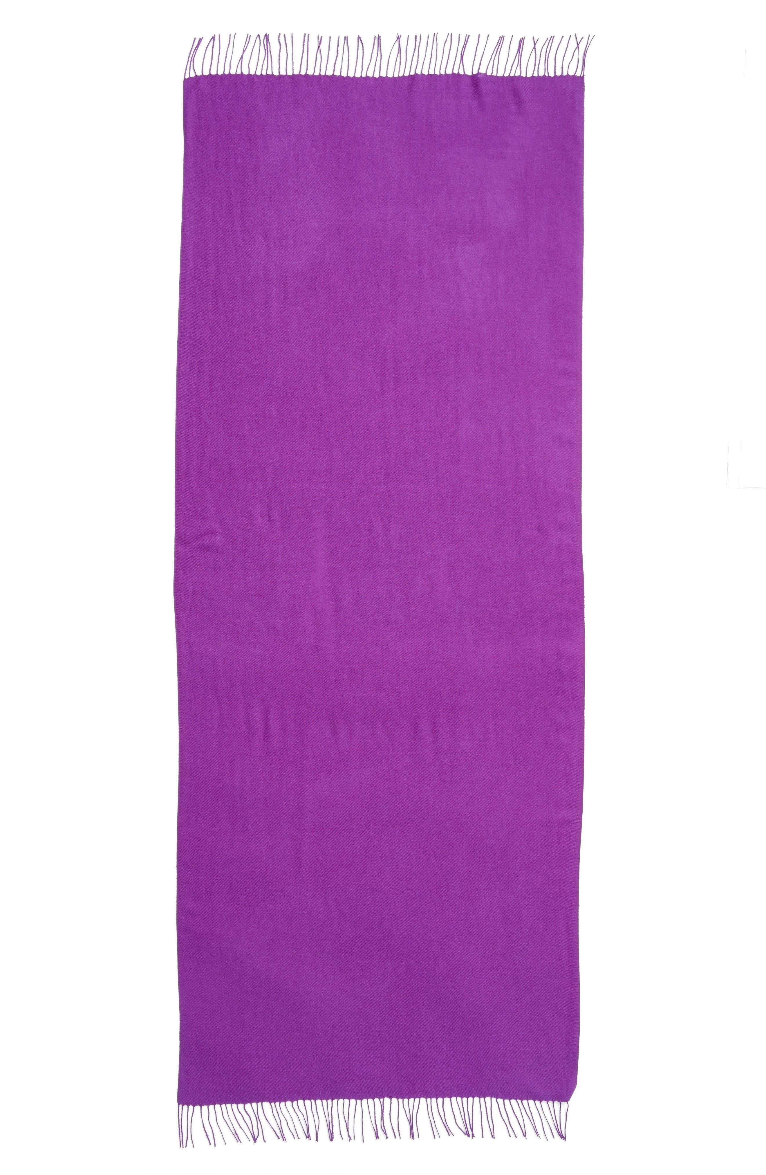 Tissue Weight Wool & Cashmere Scarf,                             Alternate thumbnail 190, color,