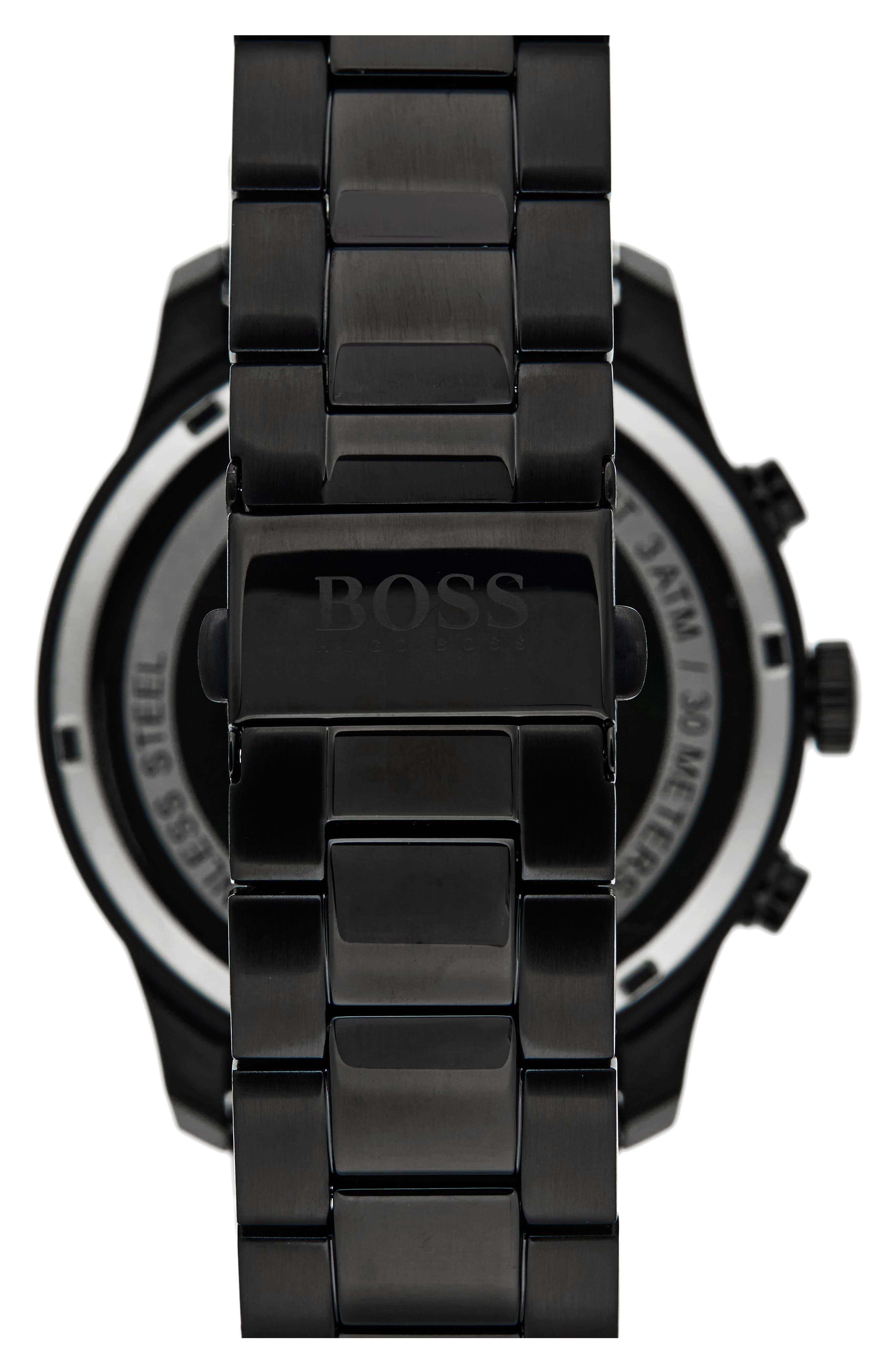 Professional Chronograph Bracelet Watch, 42mm,                             Alternate thumbnail 2, color,                             001