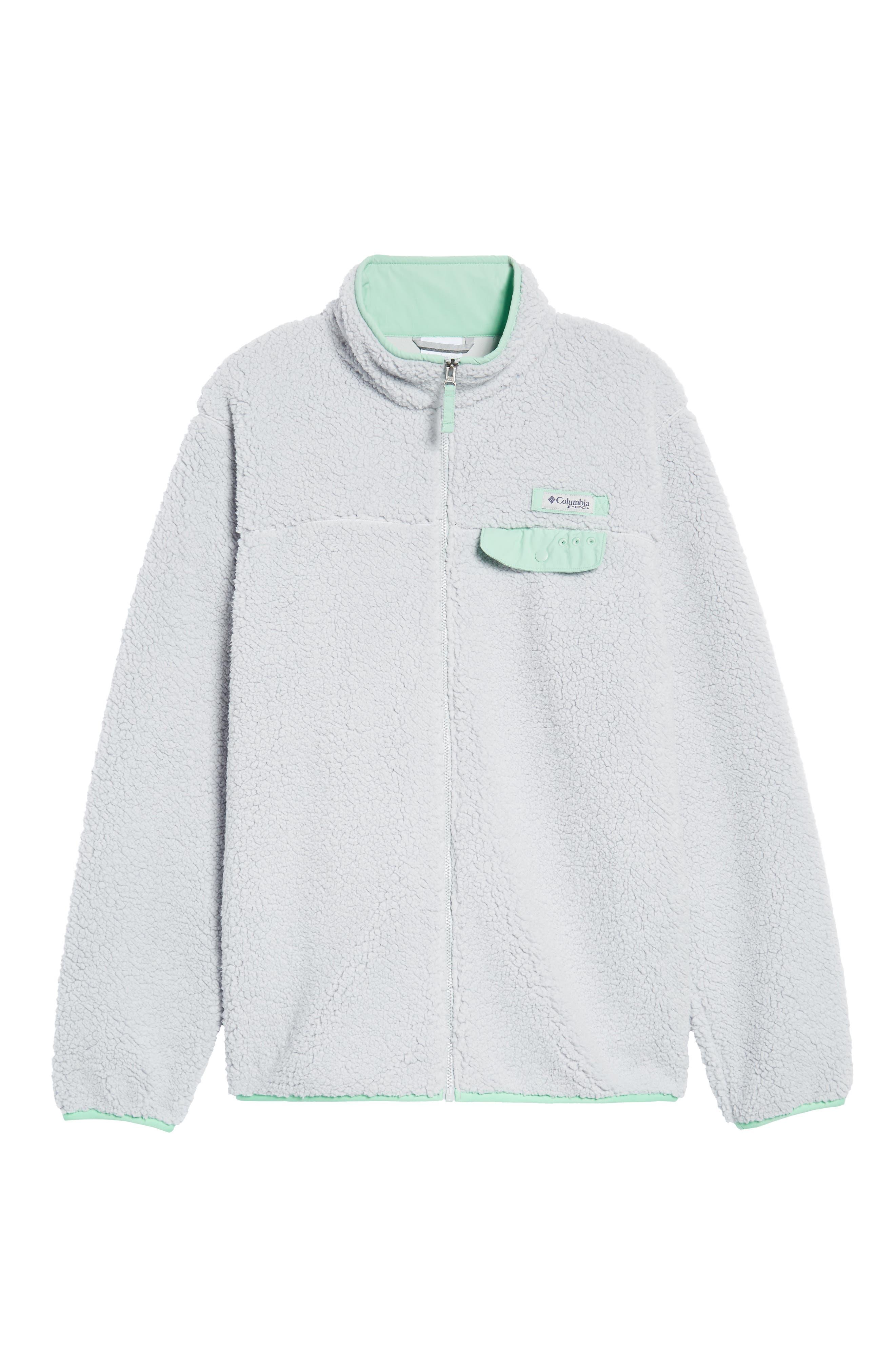 Harborside Fleece Jacket,                             Alternate thumbnail 22, color,