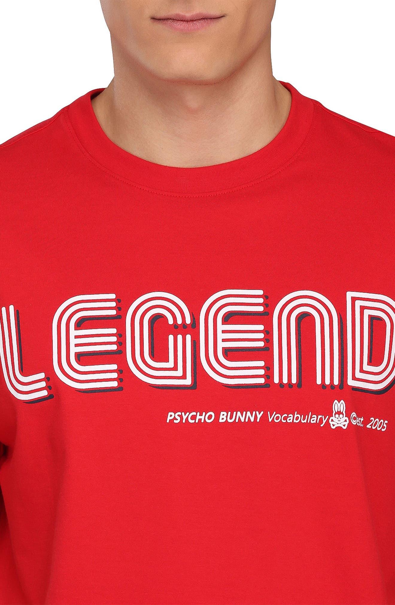 Legend Graphic T-Shirt,                             Alternate thumbnail 3, color,
