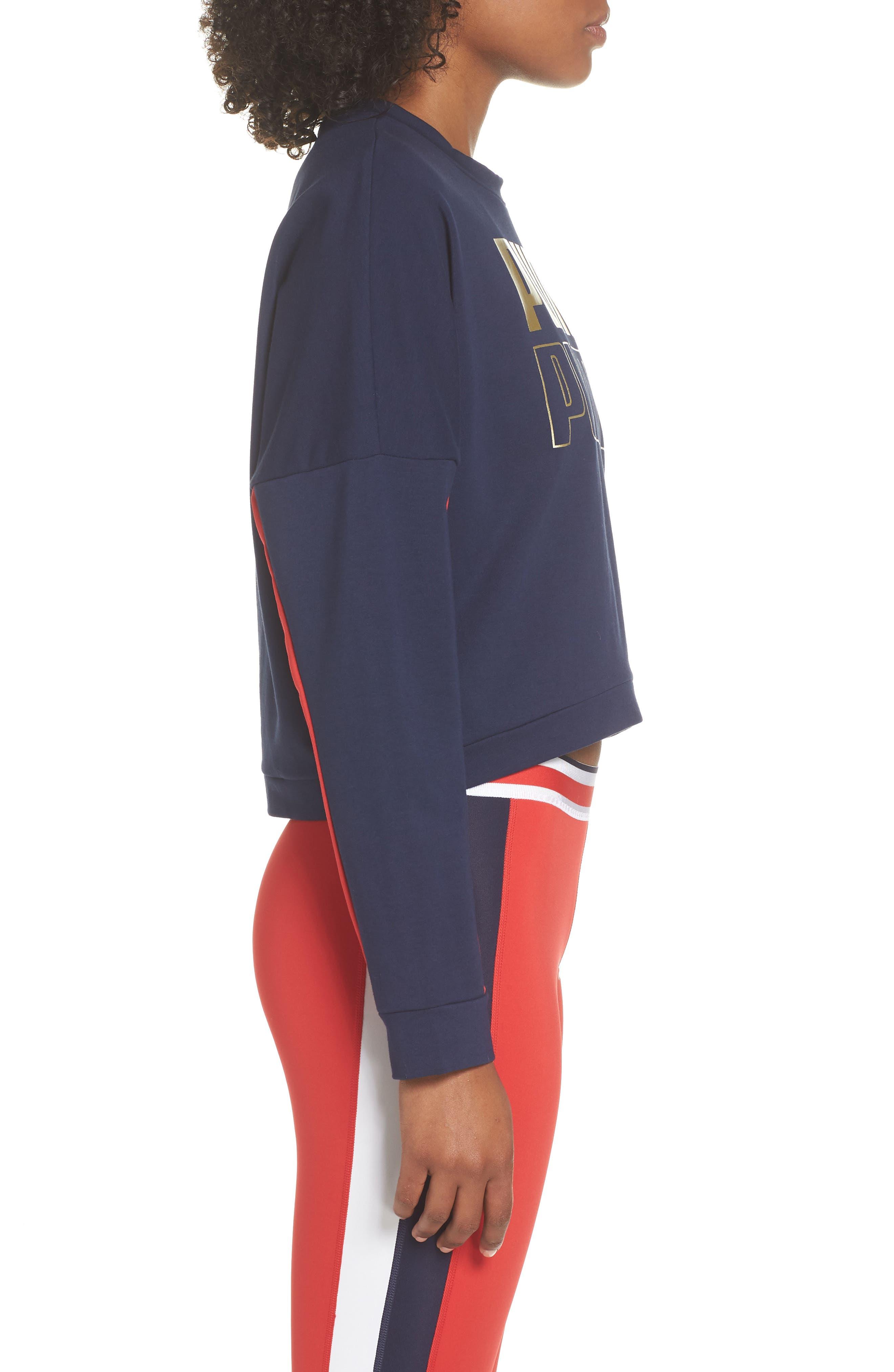 Modern Sport Sweatshirt,                             Alternate thumbnail 3, color,                             710