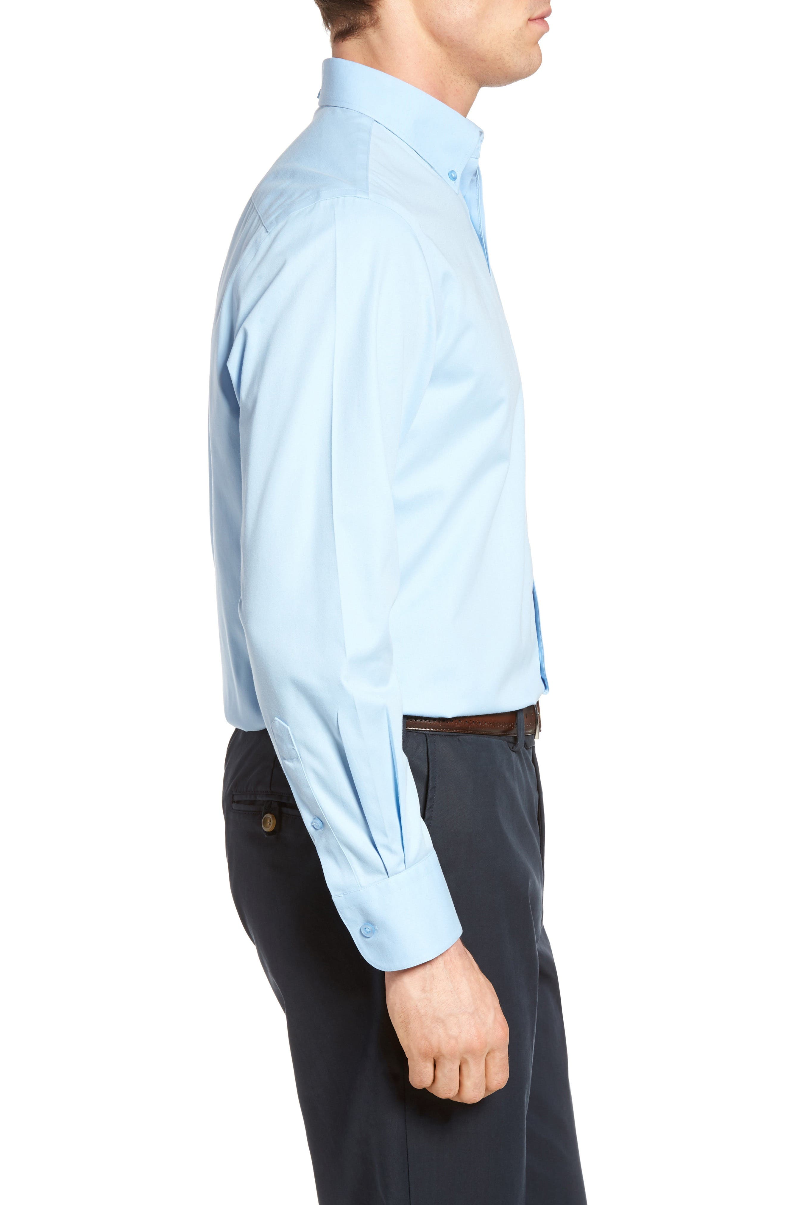 Smartcare<sup>™</sup> Traditional Fit Twill Boat Shirt,                             Alternate thumbnail 124, color,