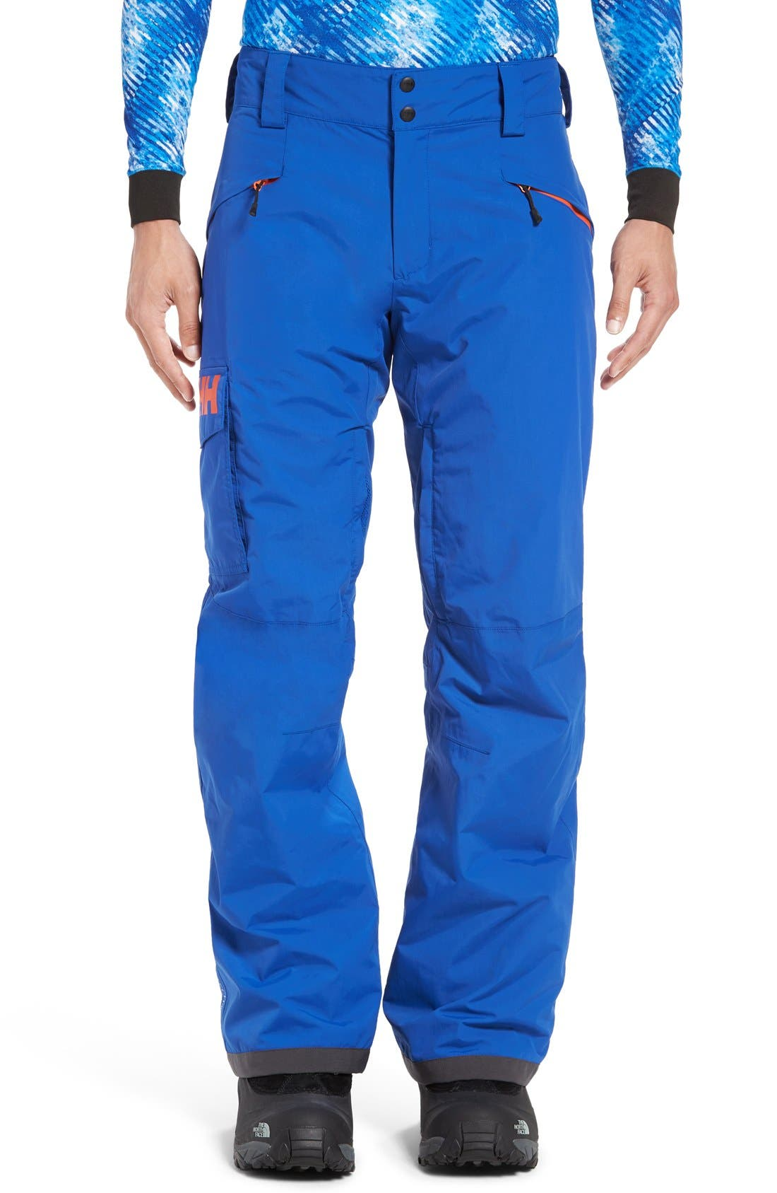 'Sogn' Waterproof PrimaLoft<sup>®</sup> Cargo Snow Pants,                             Main thumbnail 4, color,
