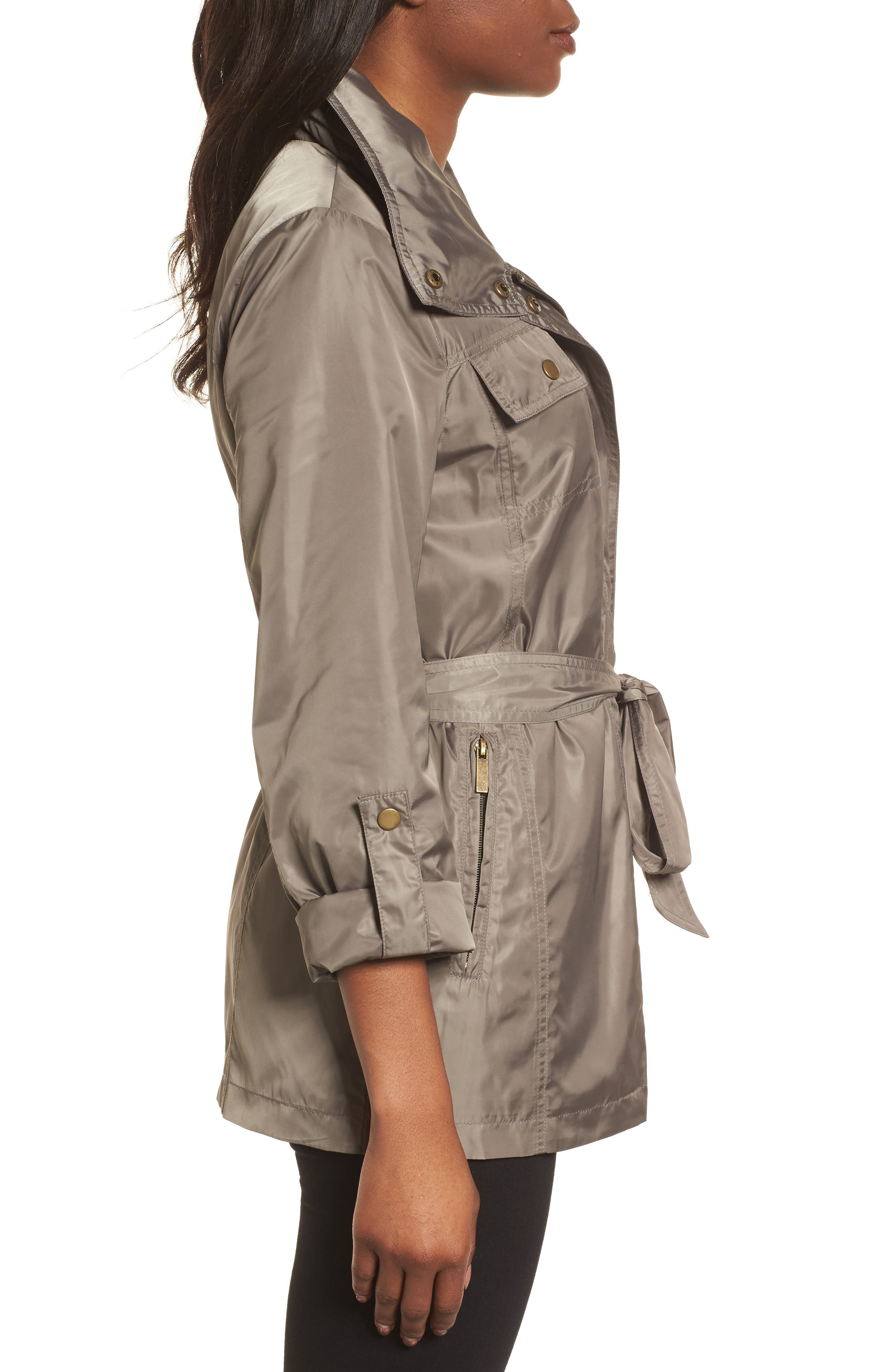 Belted Lightweight Jacket,                             Alternate thumbnail 10, color,