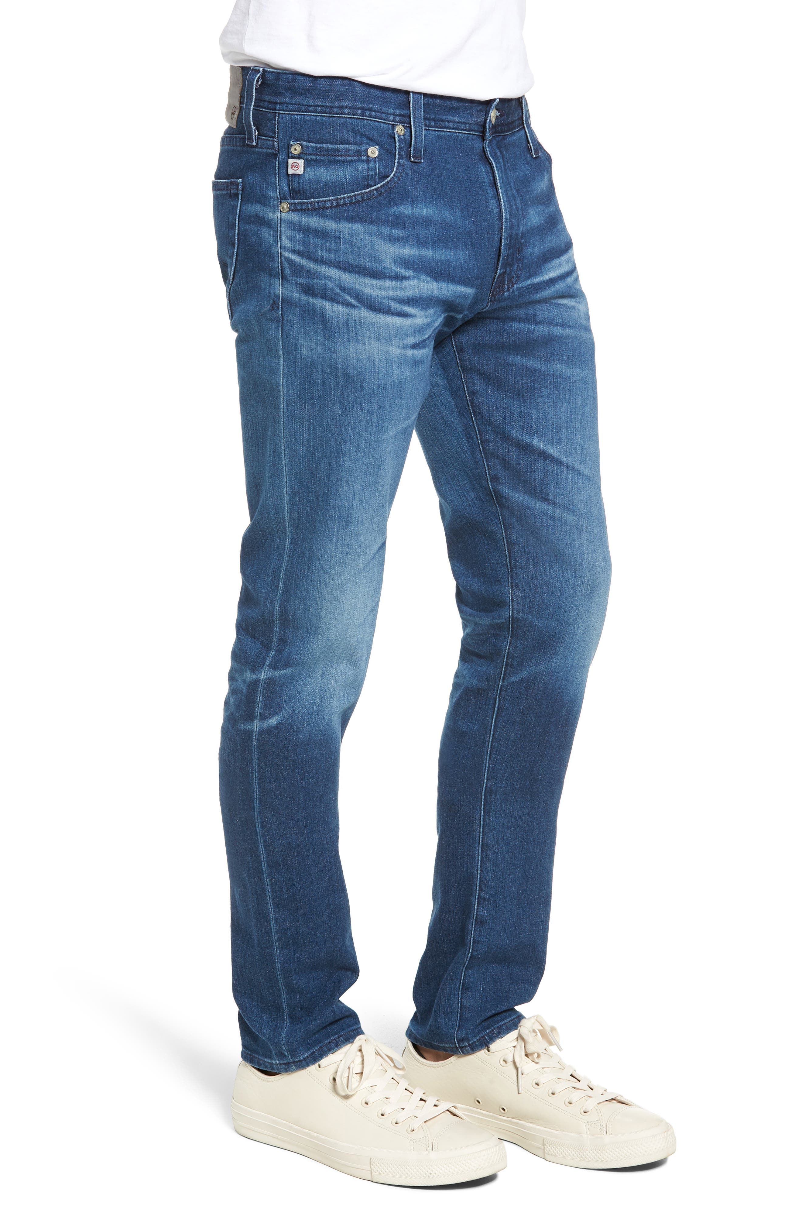 Dylan Skinny Fit Jeans,                             Alternate thumbnail 3, color,                             437
