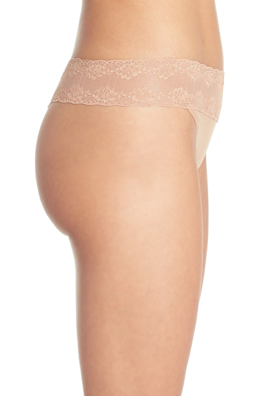 Bliss Perfection Thong,                             Alternate thumbnail 341, color,