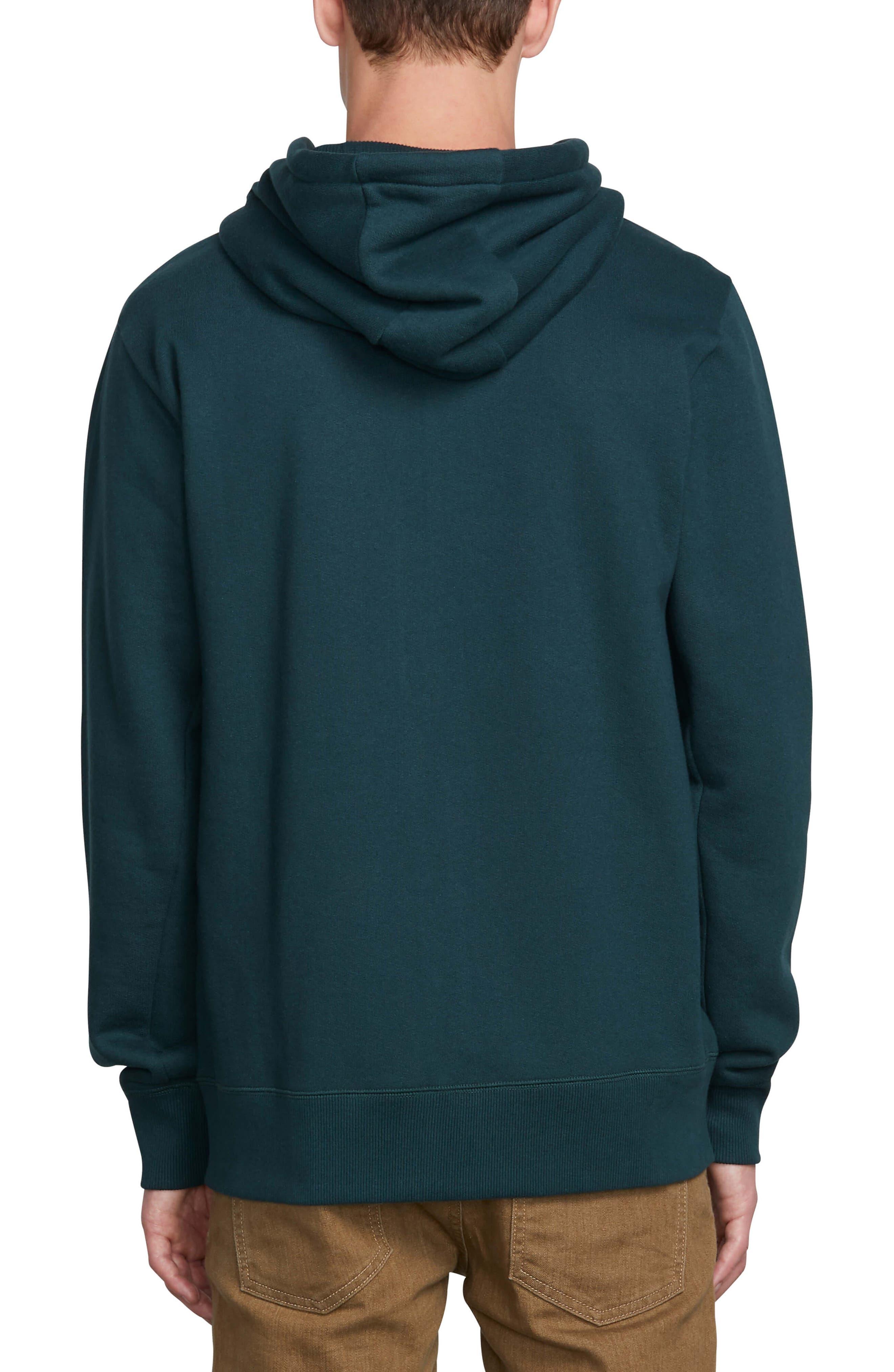 VOLCOM,                             Shop Zip Hoodie Jacket,                             Alternate thumbnail 2, color,                             DARK PINE