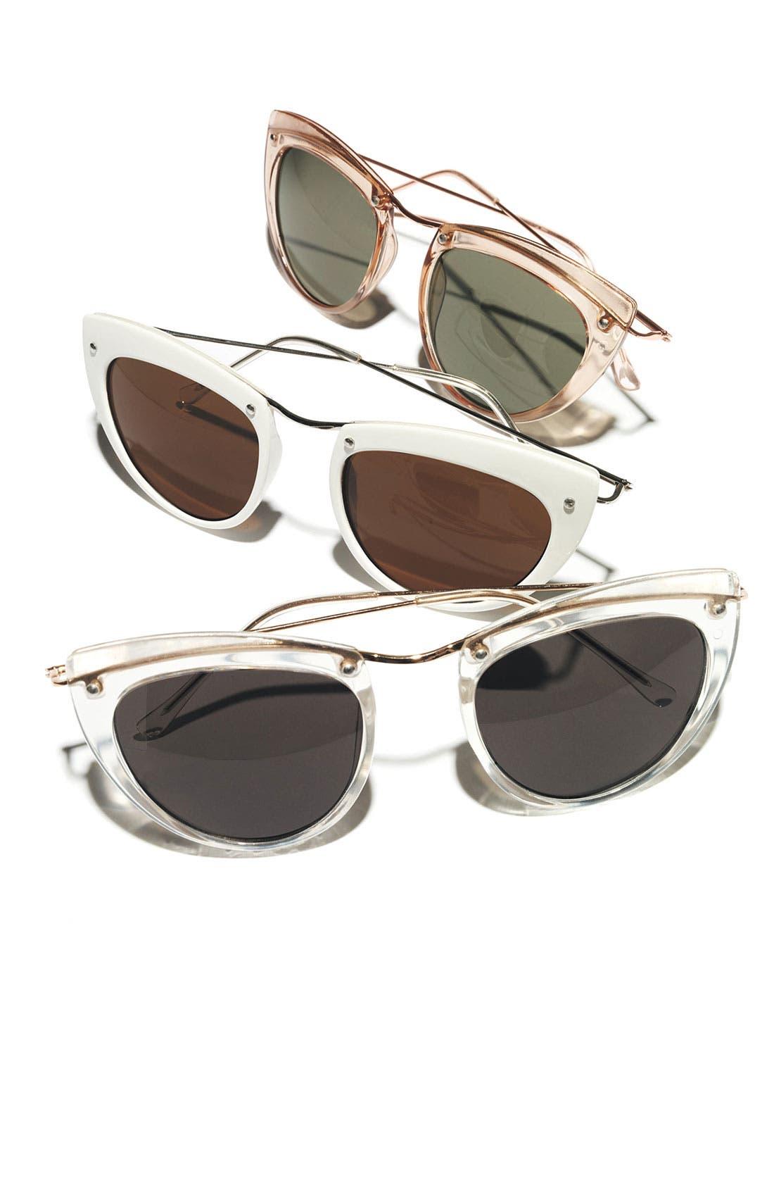 49mm Retro Sunglasses,                             Alternate thumbnail 3, color,                             300