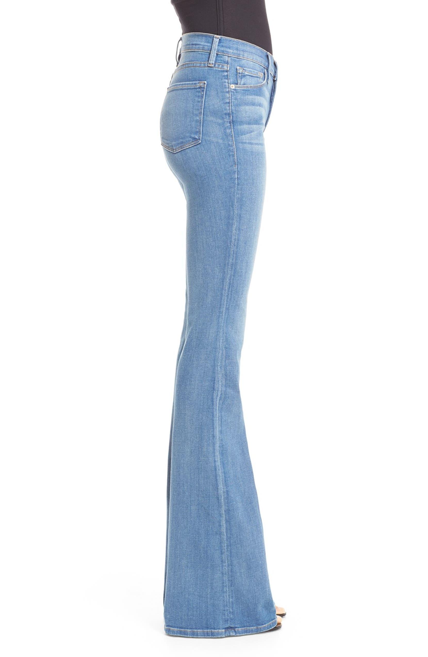 FRAME Forever Karlie Flare Jeans (Linden) | Nordstrom