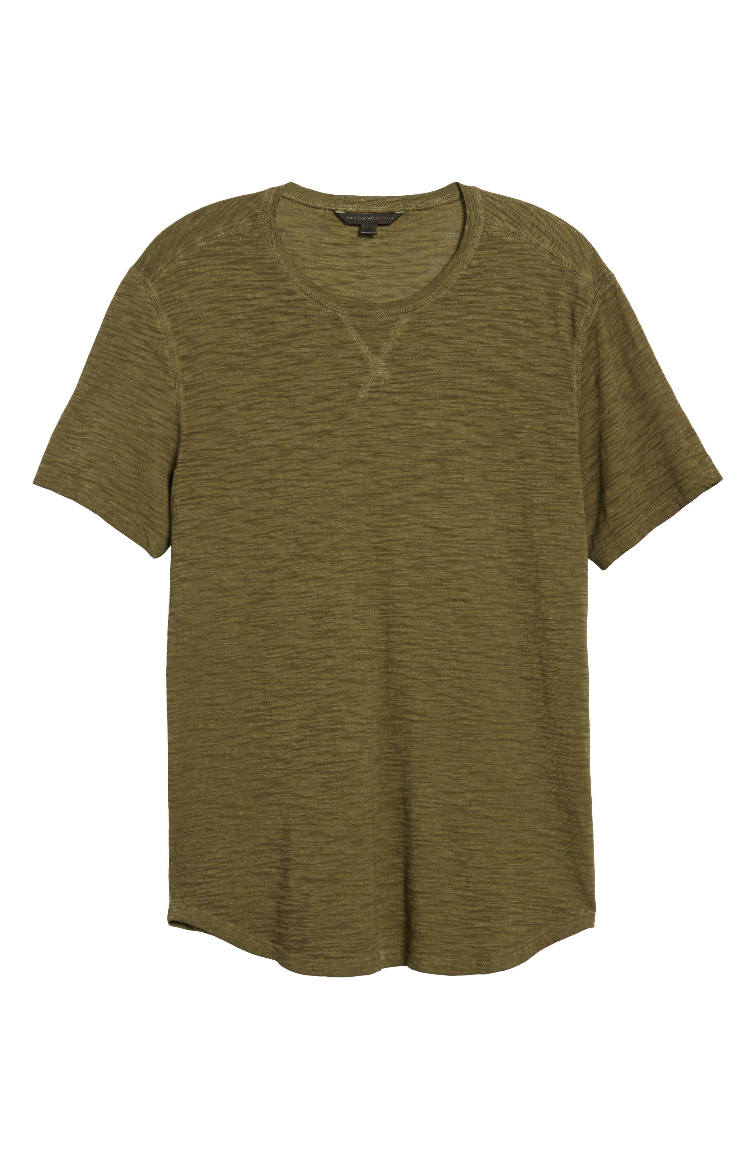 Slim Fit Slubbed T-Shirt,                             Alternate thumbnail 18, color,