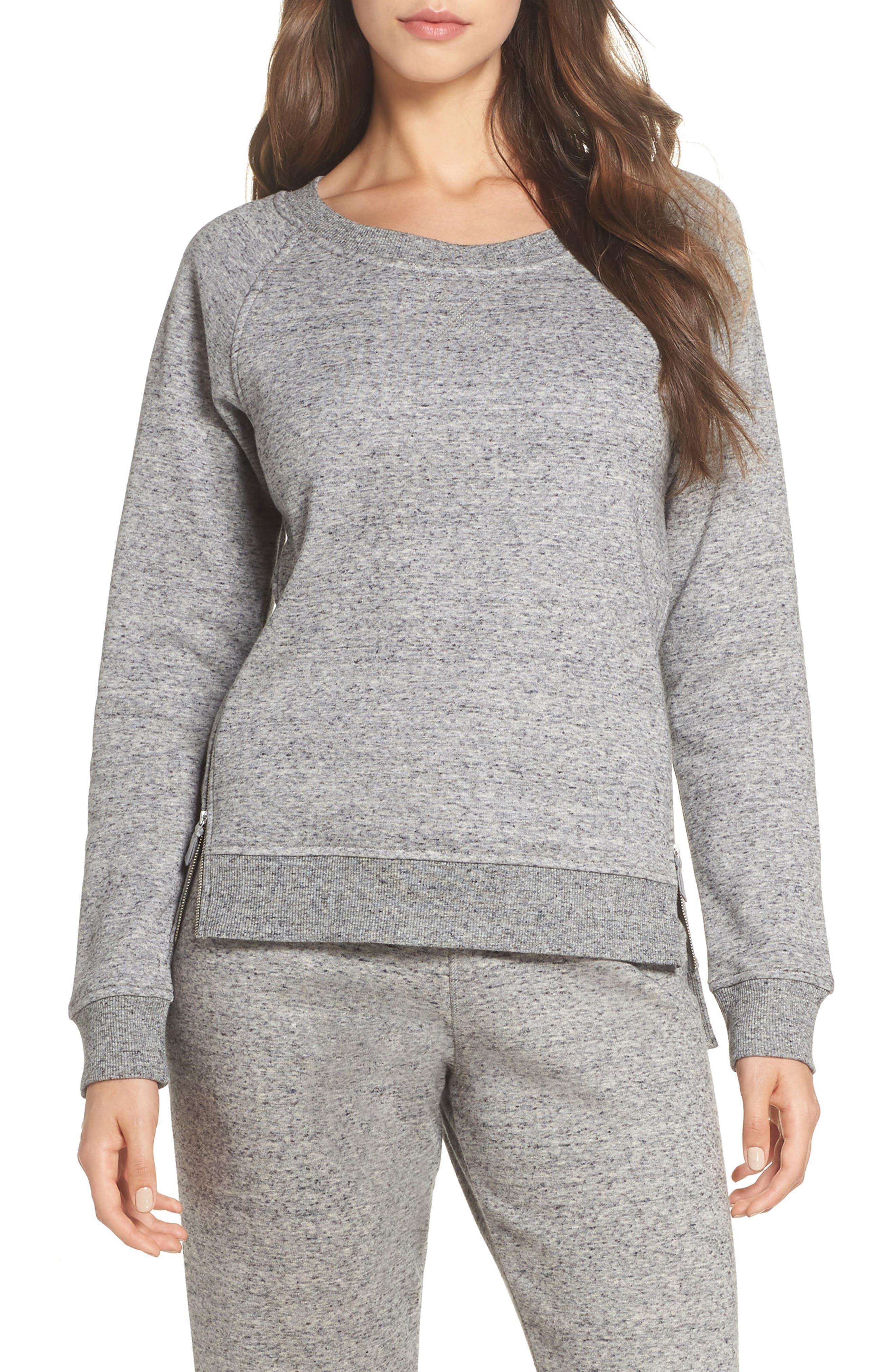 Morgan Sweatshirt,                         Main,                         color, GREY HEATHER
