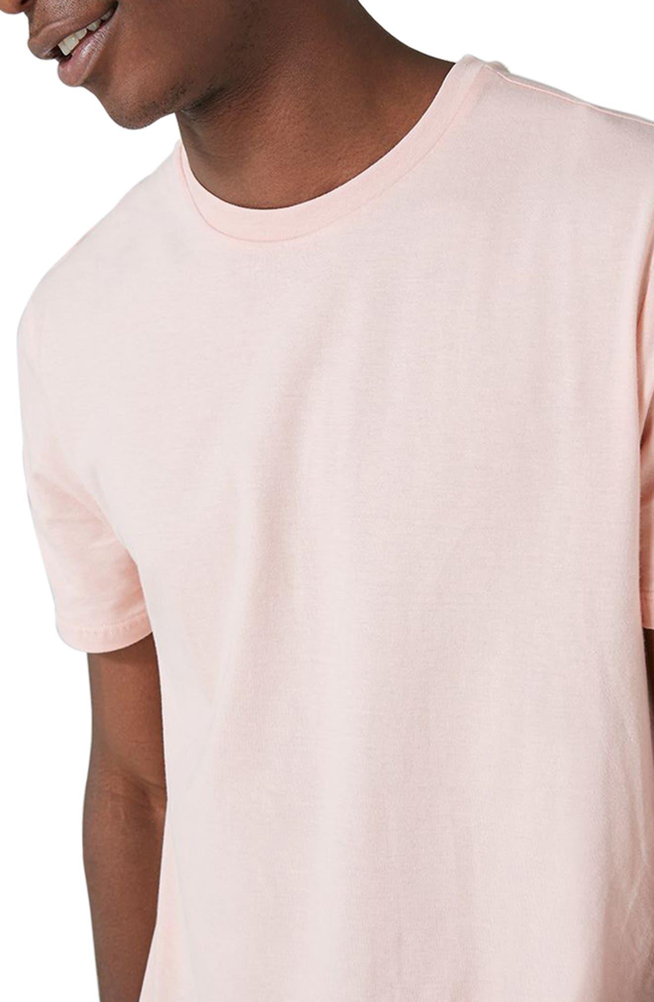 Slim Fit Crewneck T-Shirt,                             Alternate thumbnail 215, color,