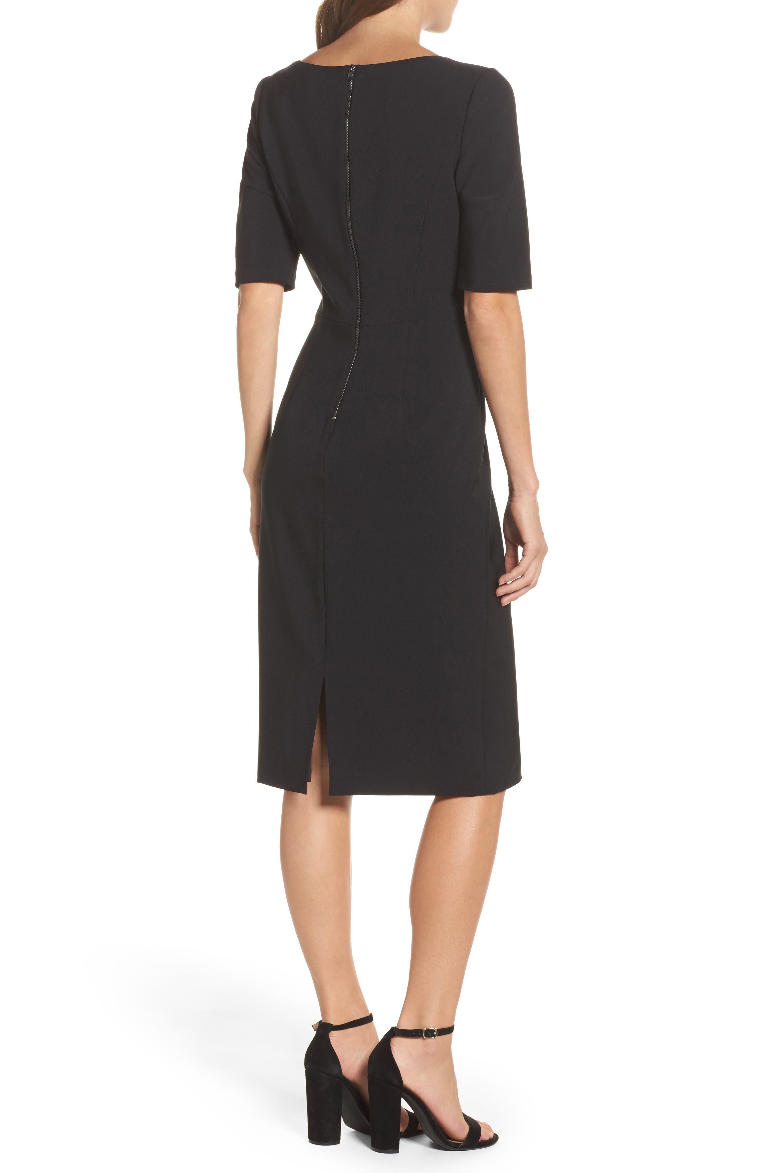 Asymmetrical Sheath Dress,                             Alternate thumbnail 2, color,