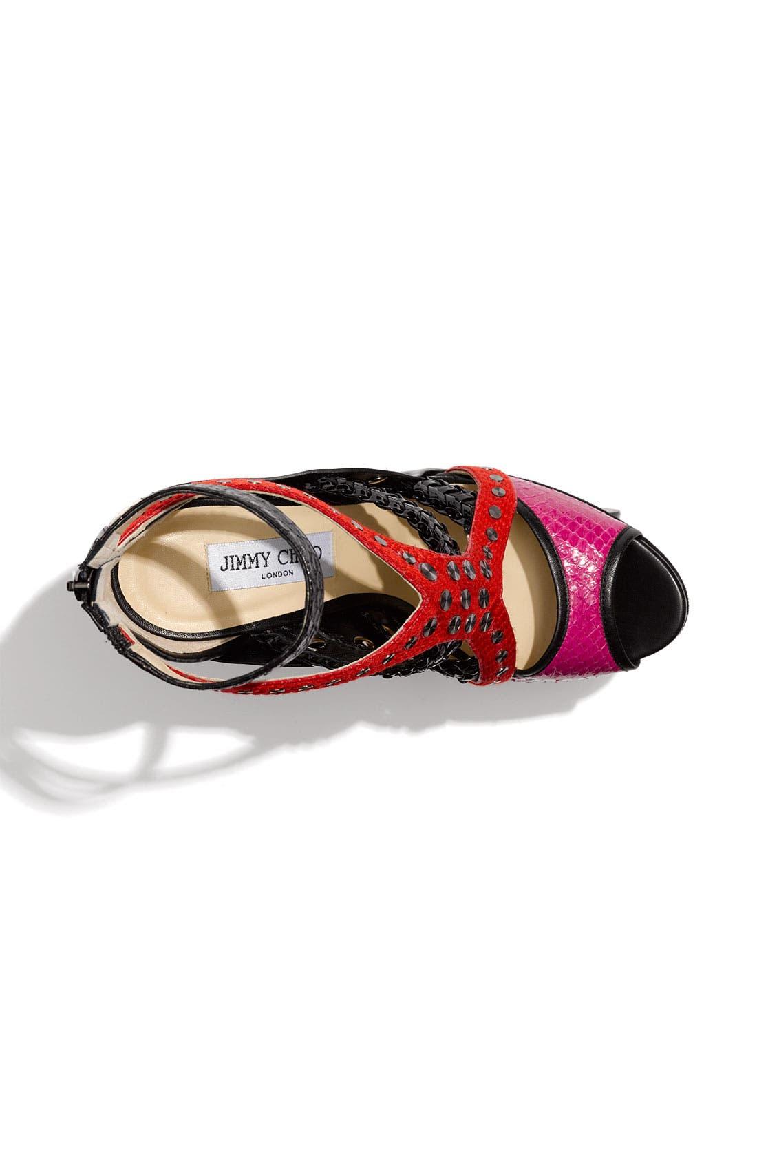 Platform Sandal,                             Alternate thumbnail 2, color,                             600
