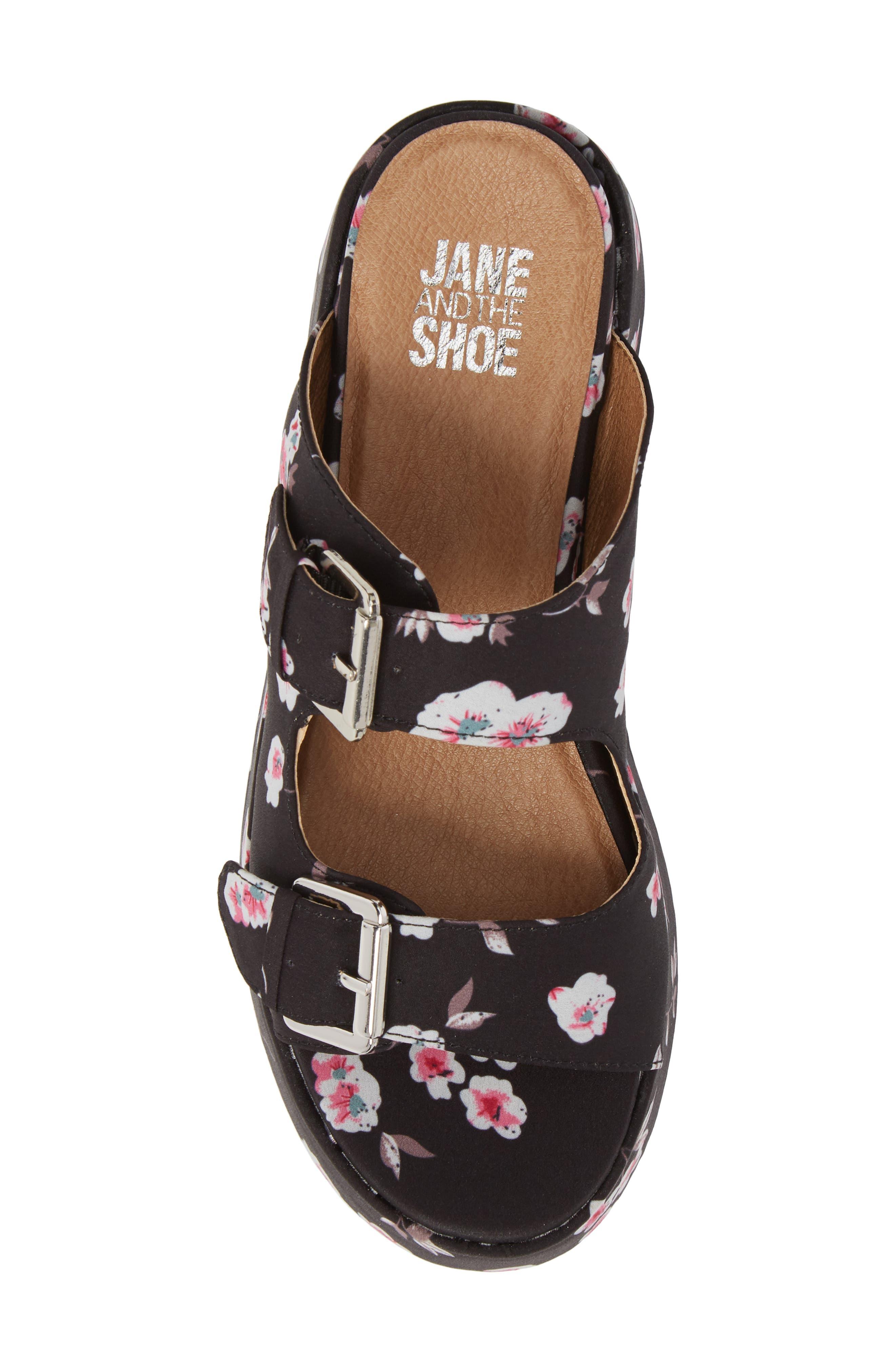 Jordan Two-Buckle Slide Sandal,                             Alternate thumbnail 5, color,                             001